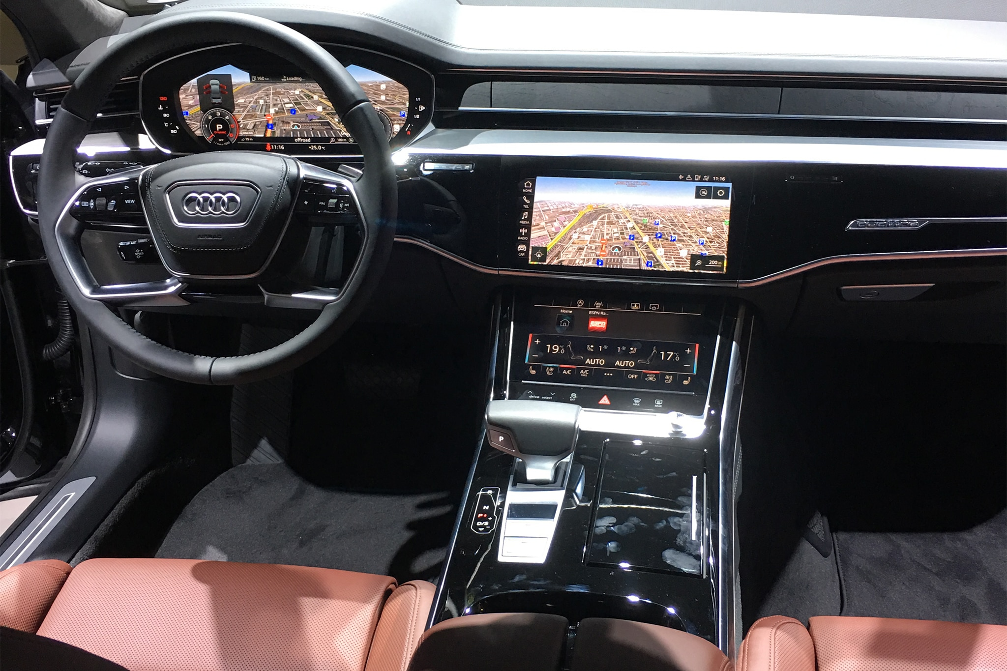 2019 Audi A8 Rolls in Ready to Drive Itself | Automobile ...