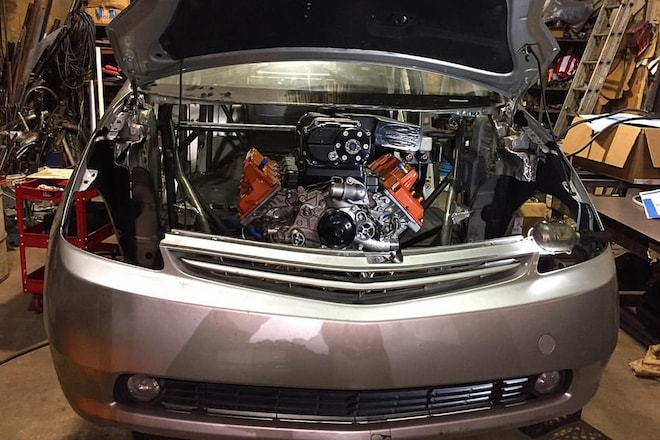 American Racing Headers PriuSRT8 Via Facebook Under The Hood