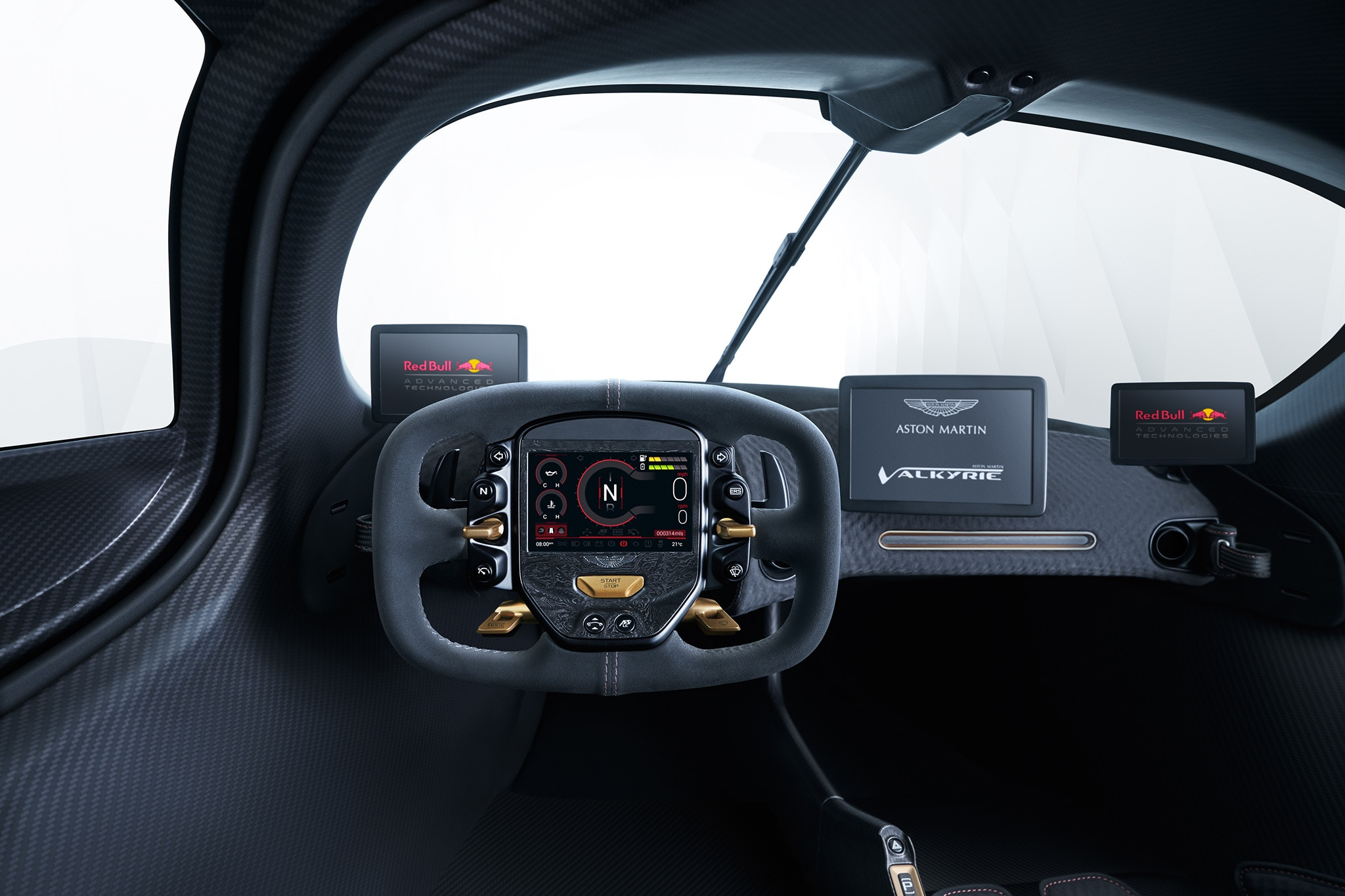 Car Buying Sites >> Aston Martin Valkyrie Interior Revealed! | Automobile Magazine