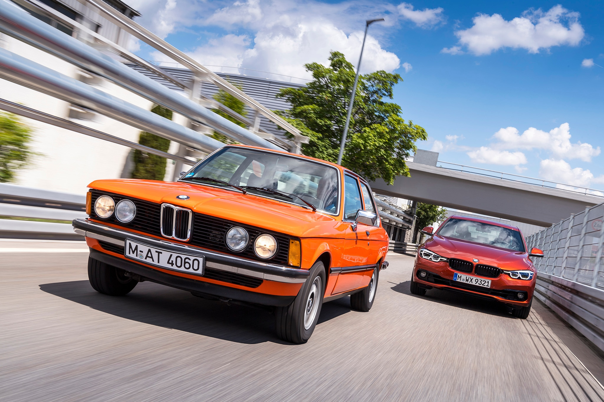 BMW 3 Series E21 And F30 Track