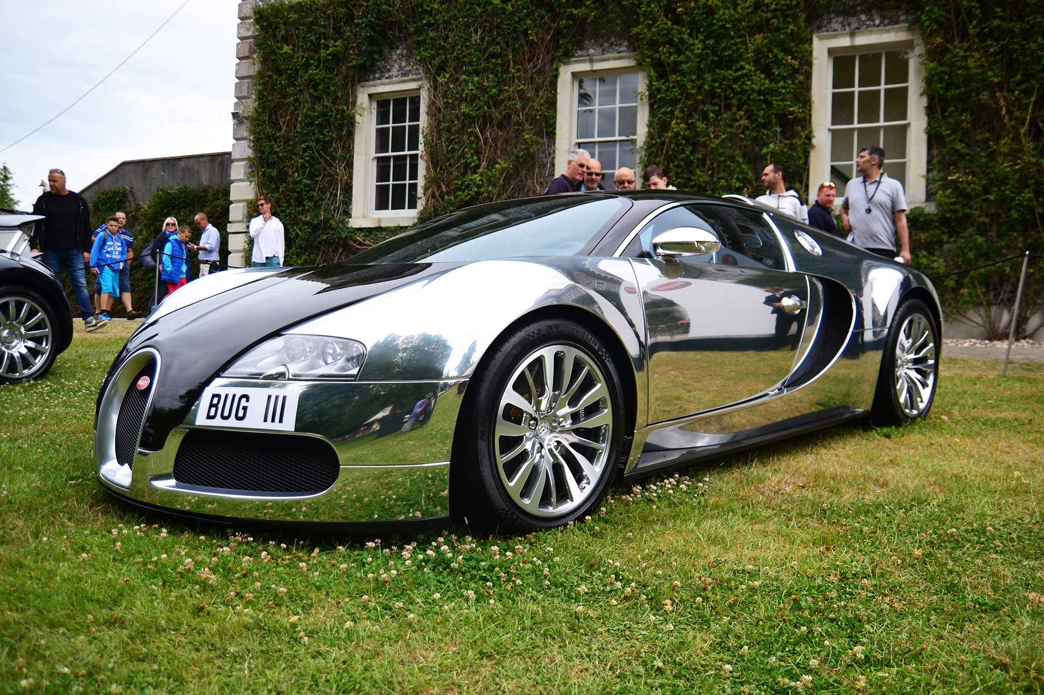 Bugatti Displayed 9 404 Horsepower At The 2017 Goodwood