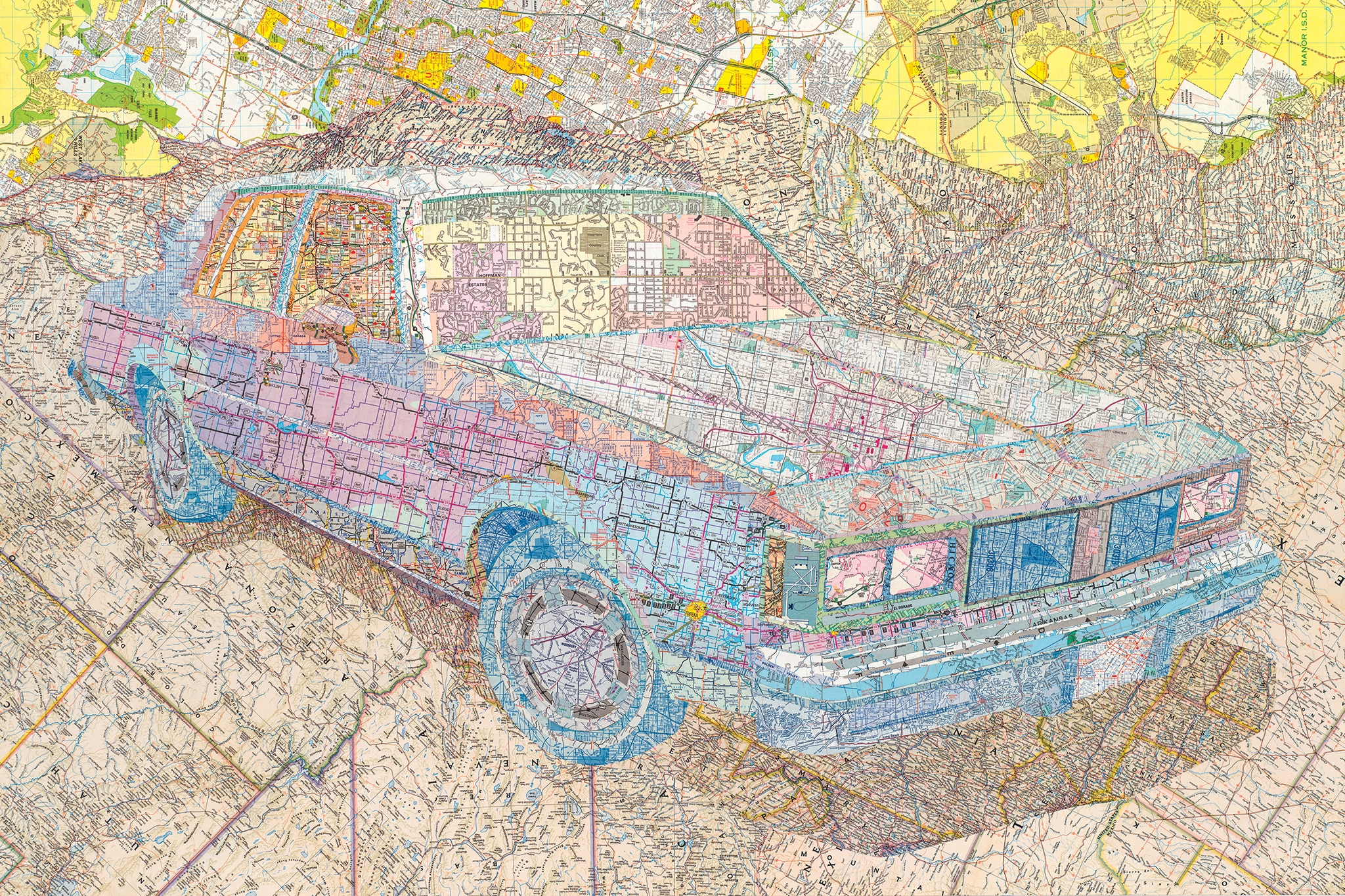 Matt Cusick Map Art 02