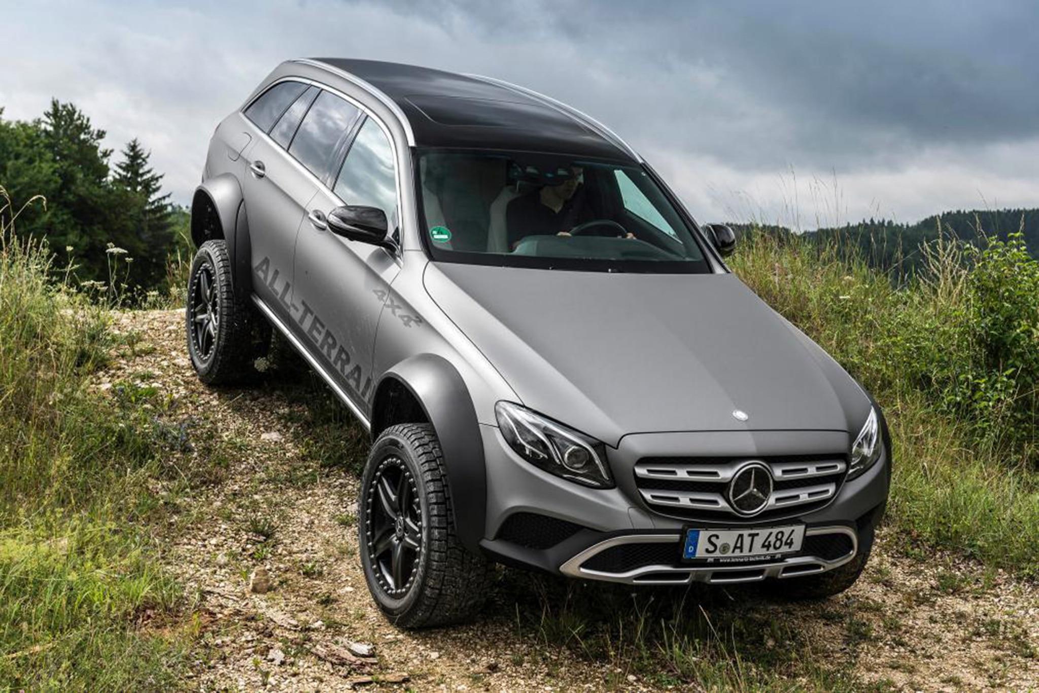 https://st.automobilemag.com/uploads/sites/11/2017/07/Mercedes-Benz-E-Class-All-Terrain-by-Jurgen-Eberle-Down-Hill.jpg