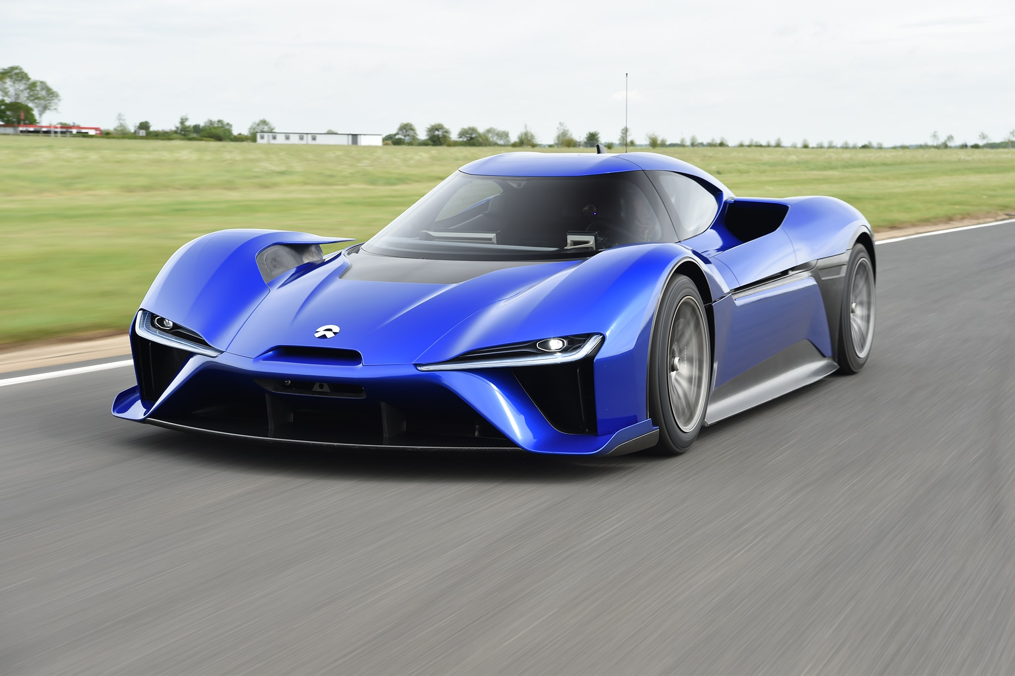 Nio EP9 Front Three Quarter In Motion 02