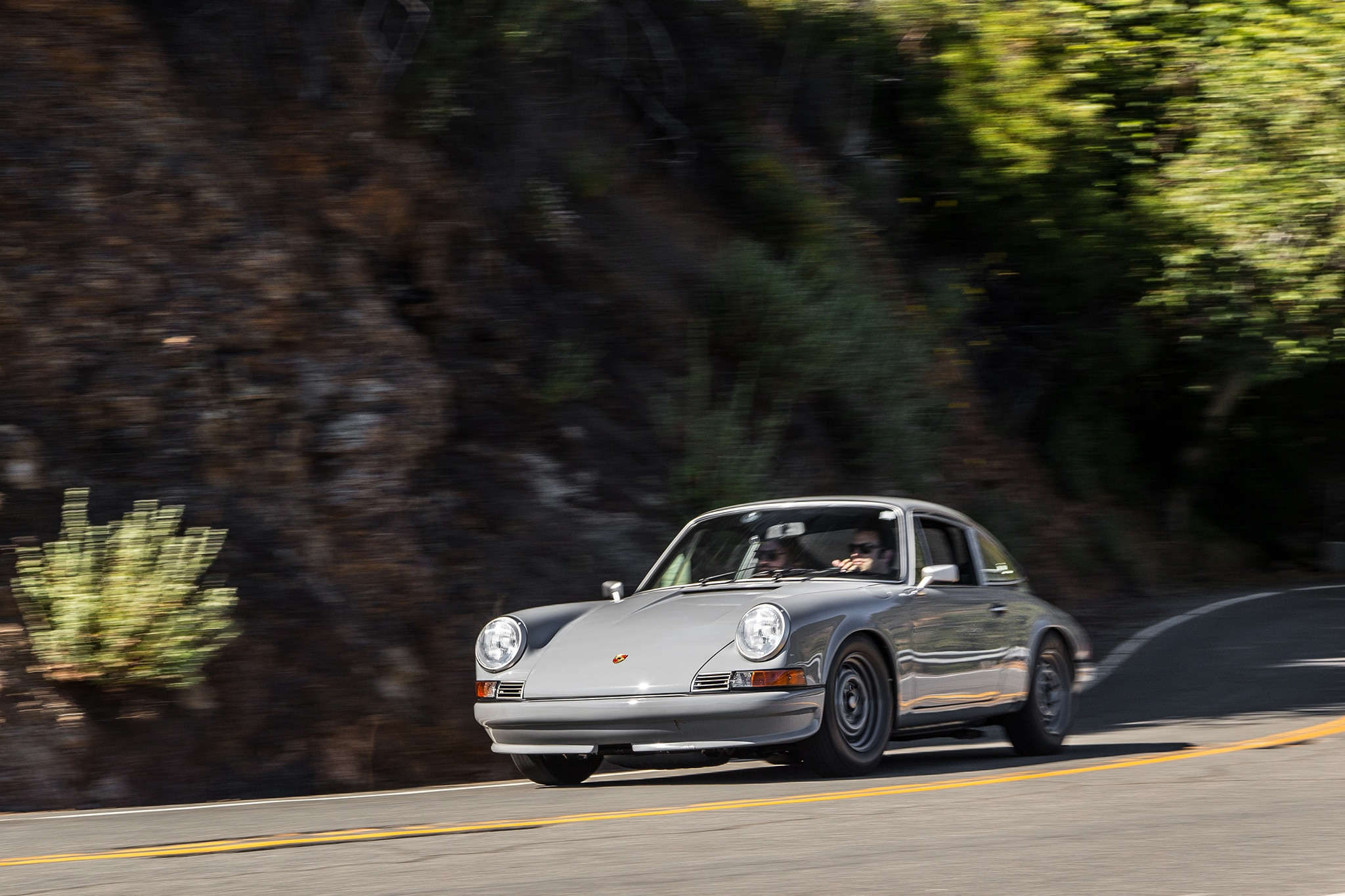 An Afternoon With Two Vintage Porsche 911s Re Imagined By Las Wiring Harness 1973 911 Show More