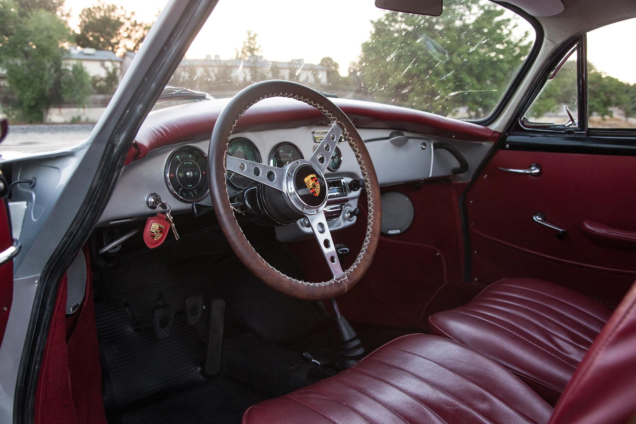 1964 Porsche 356 C Cabin 02