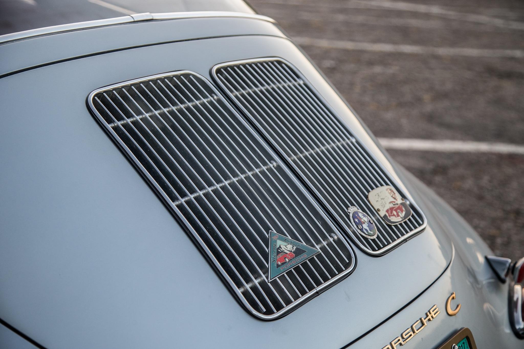 1964 Porsche 356 C Engine Vent 01