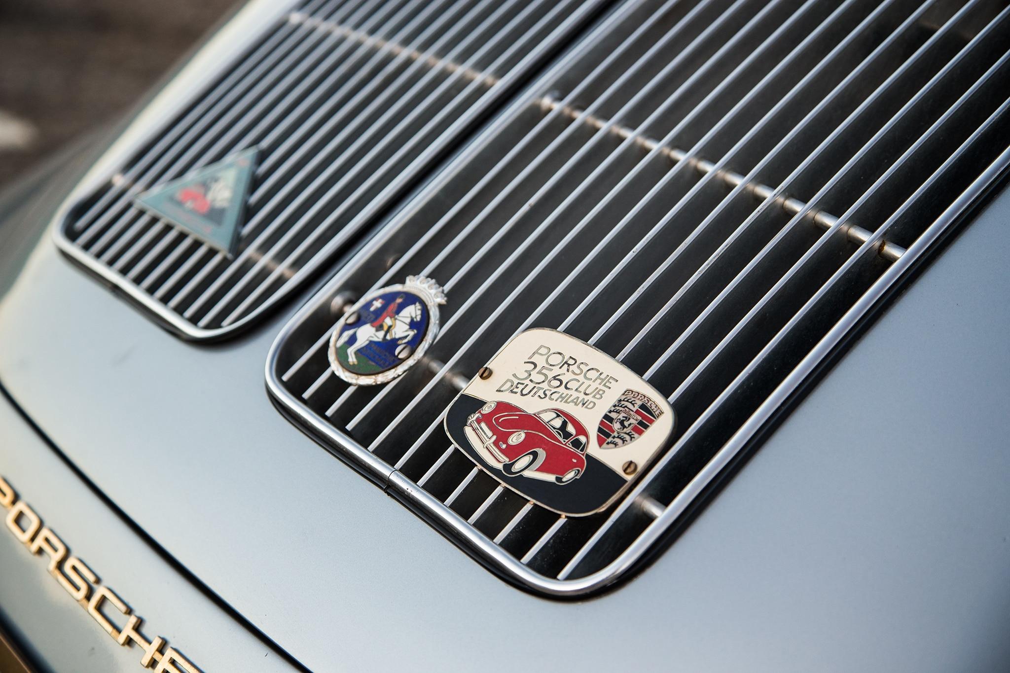 1964 Porsche 356 C Engine Vent 03