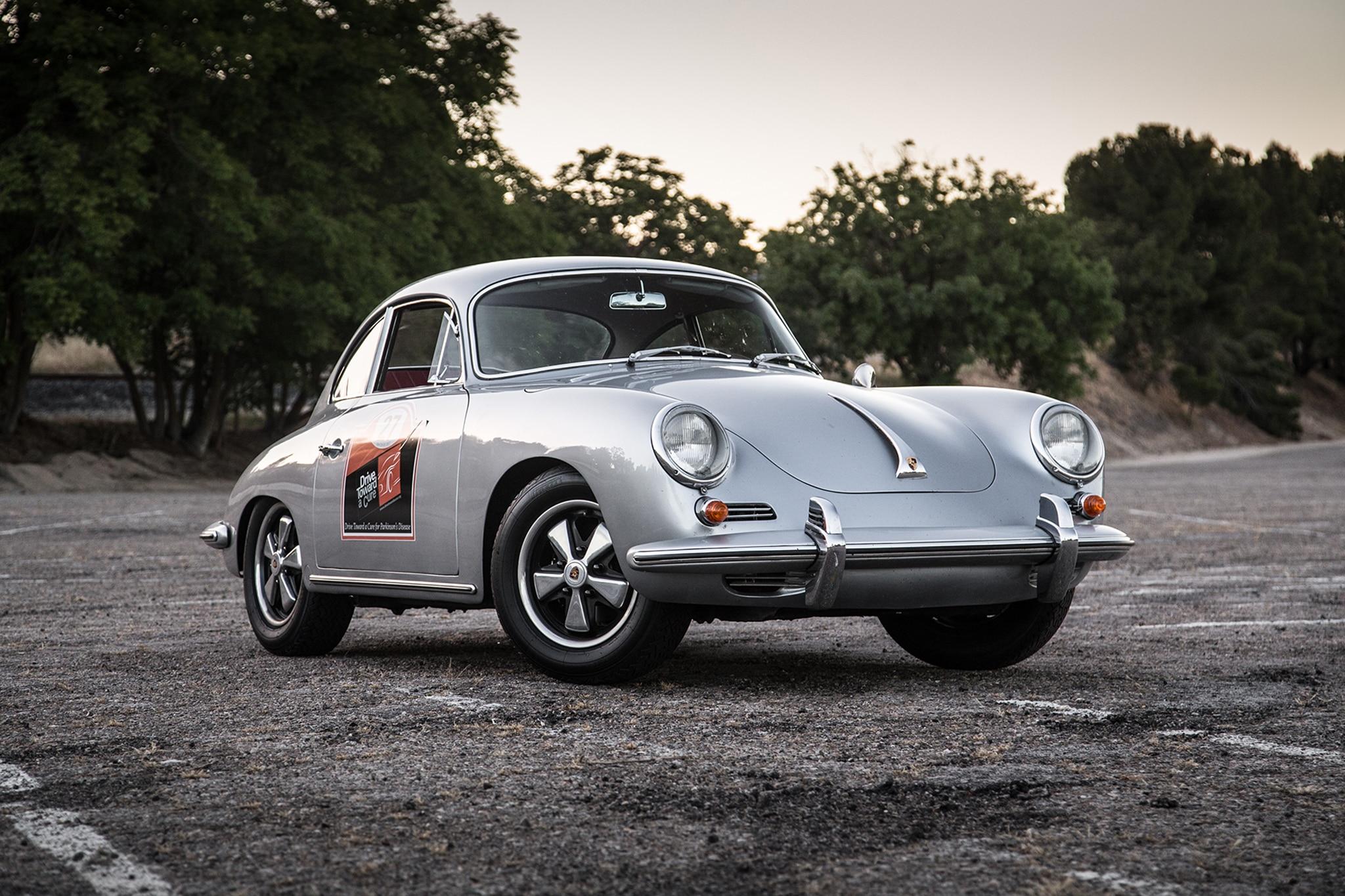 1964 Porsche 356 C Front Three Quarter 02