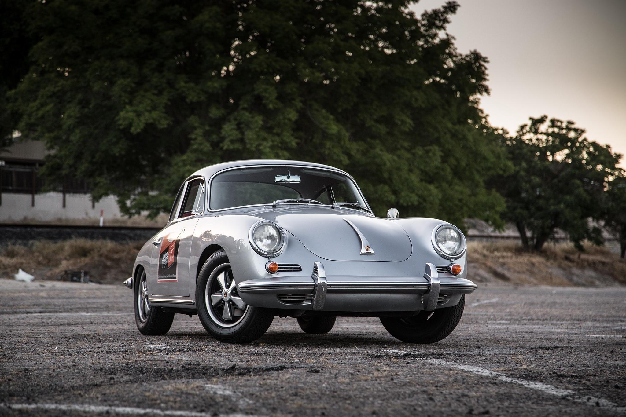 1964 Porsche 356 C Front Three Quarter 03