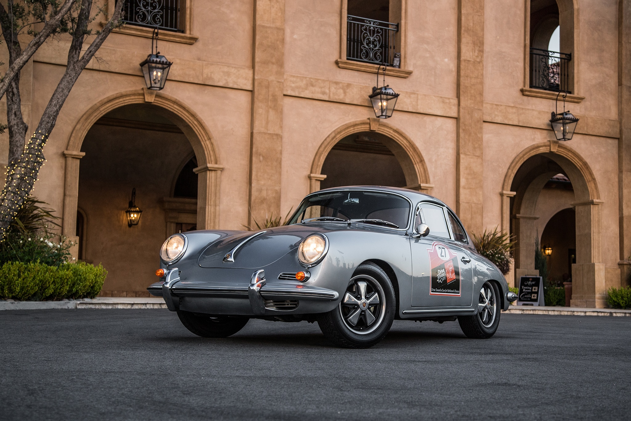 1964 Porsche 356 C Front Three Quarter 05