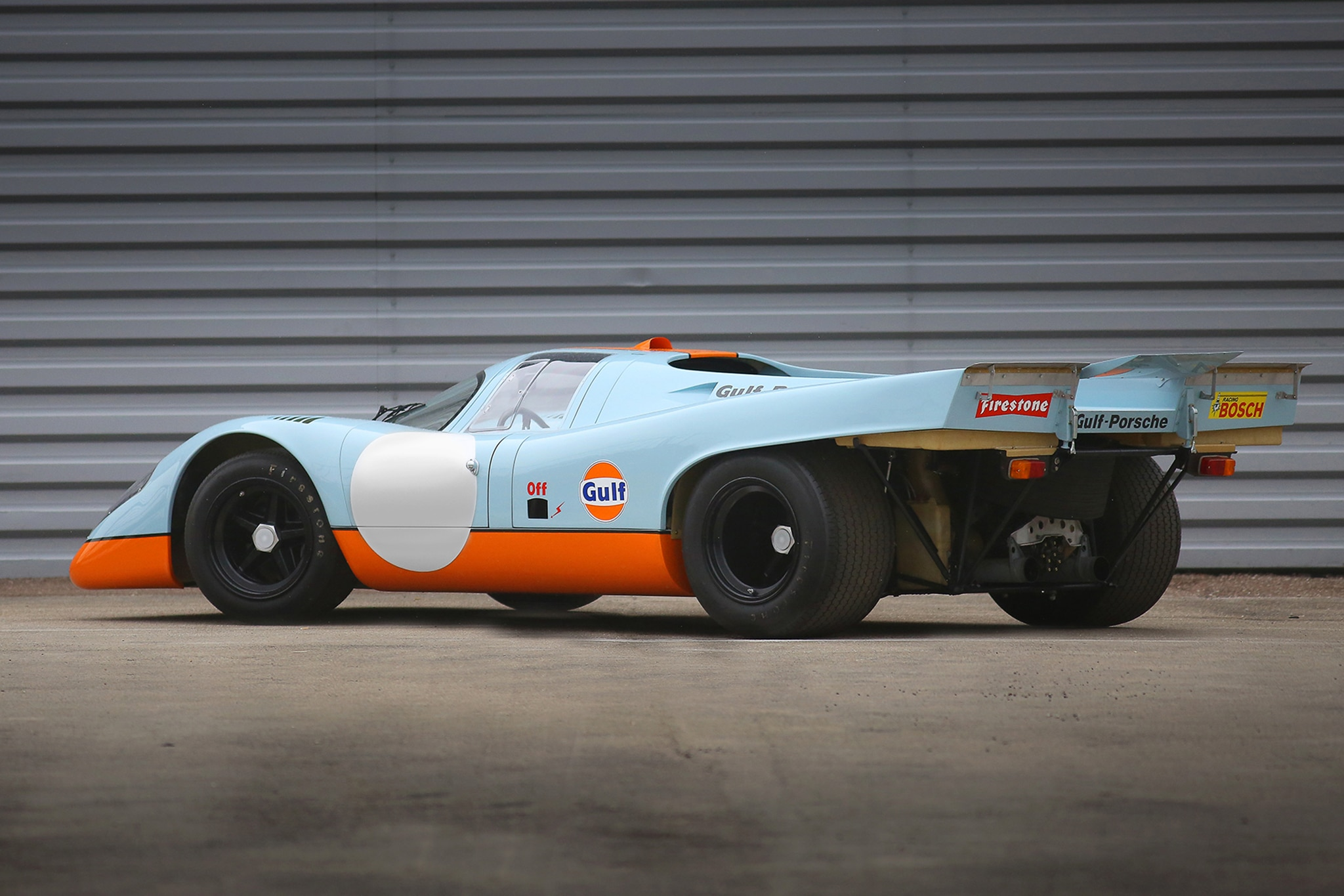 1970 Porsche 917K Rear Three Quarter