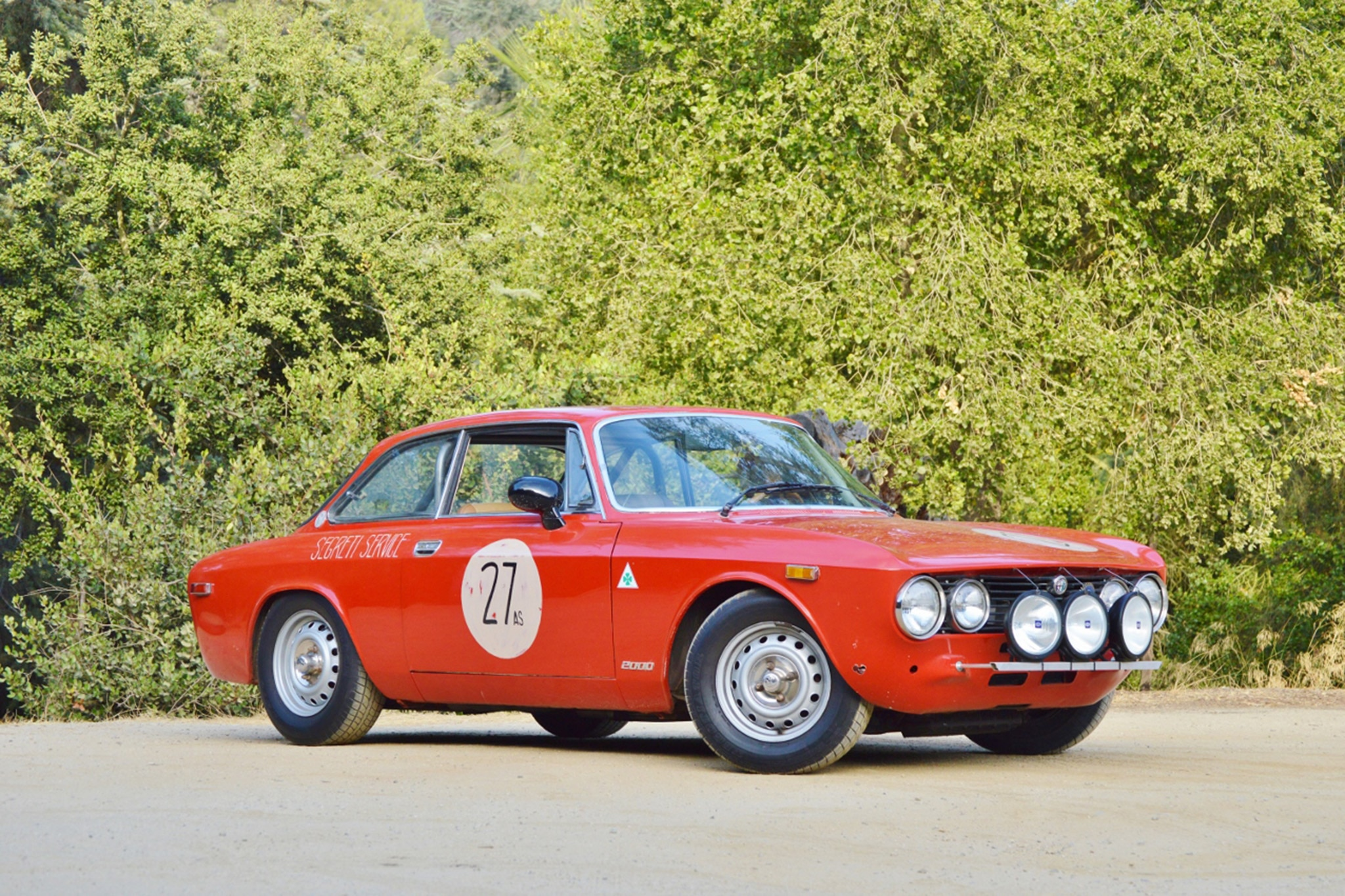 1974 Alfa Romeo GTV Outlaw Just Listed Front Three Quarters
