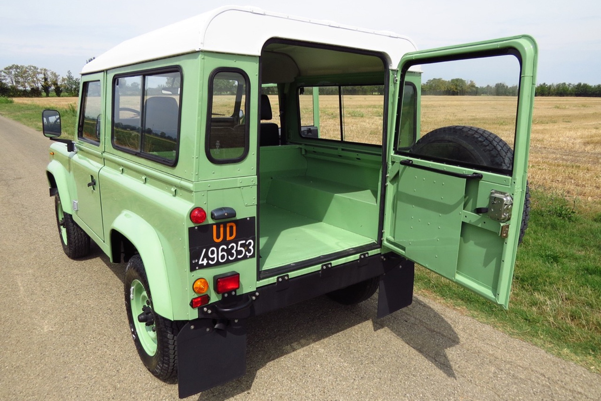 Just Listed 1985 Land Rover Defender 90 Five Speed