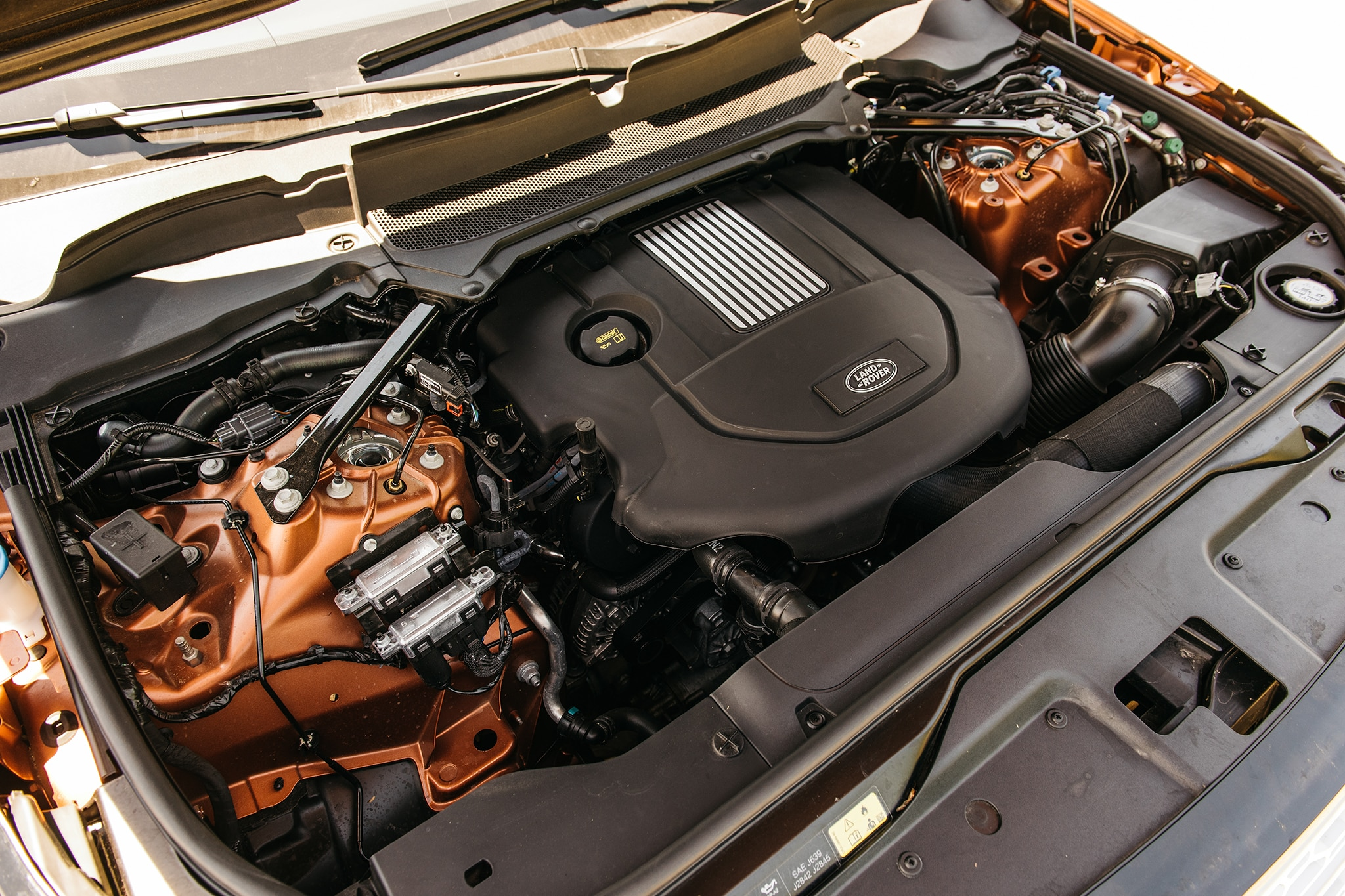 2017 Land Rover Discovery Td6 HSE Engine