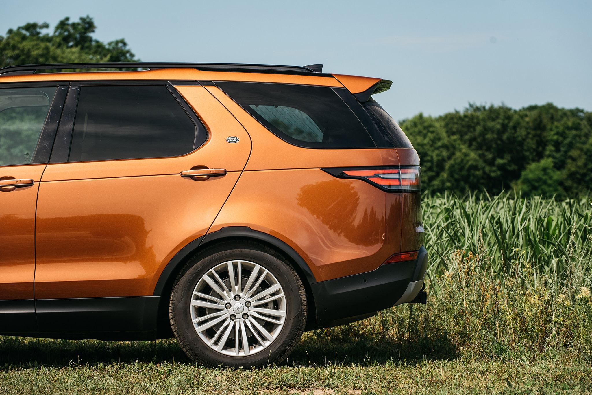2017 Land Rover Discovery Td6 HSE Profile Detail