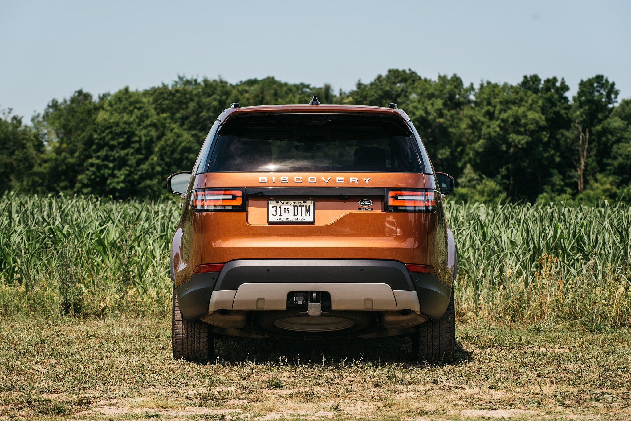 2017 Land Rover Discovery Td6 HSE Rear View