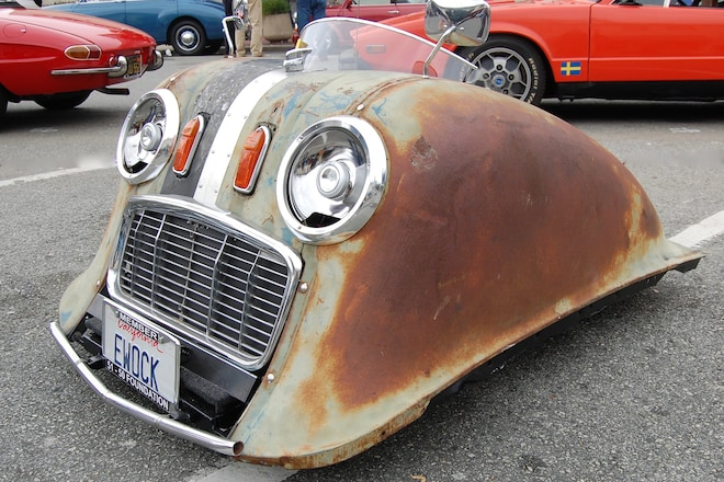 Six Big Likes From The Little Car Show At Monterey Car Week - Monterey car show