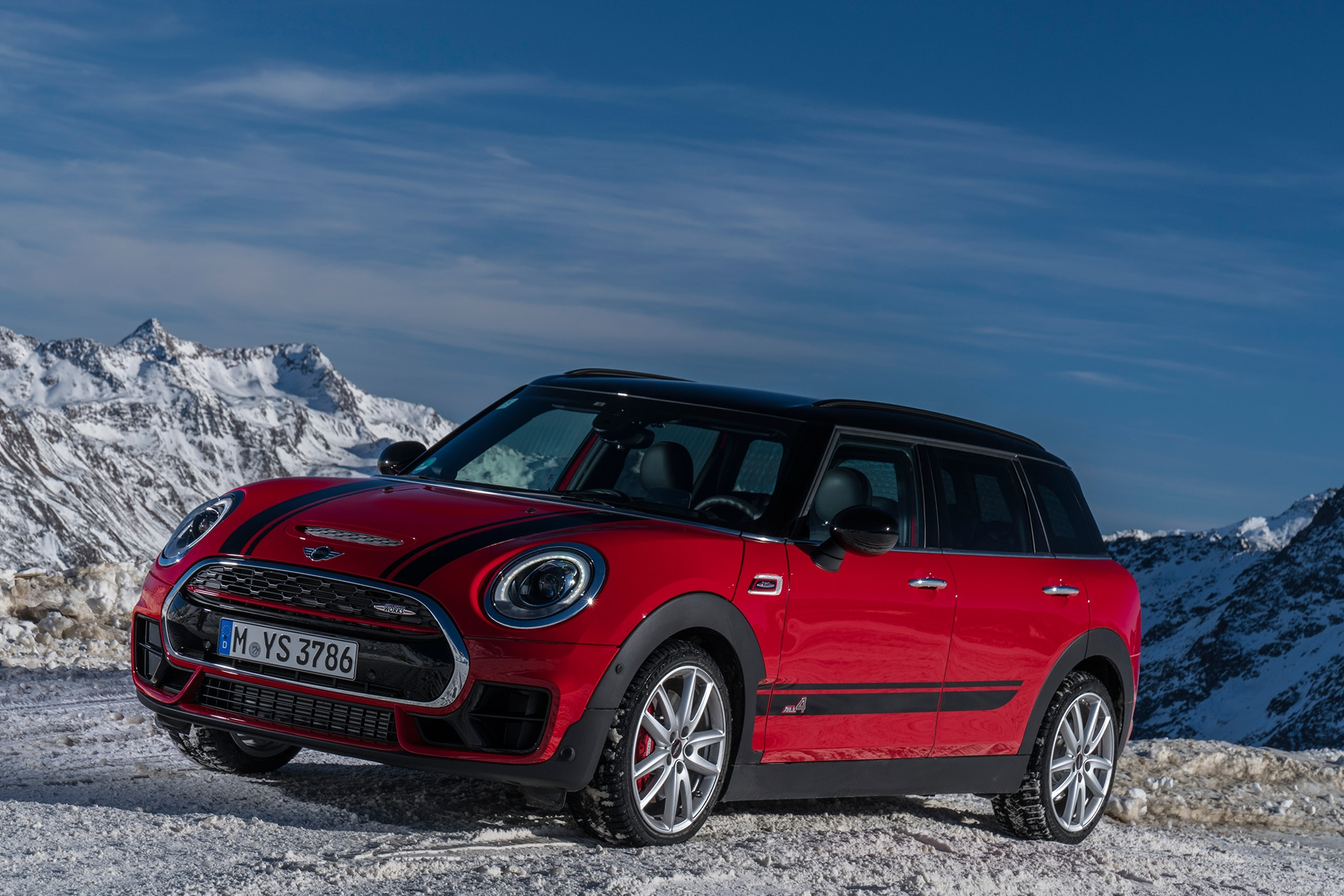 2017 Mini John Cooper Works Clubman All4 Quick Take Review