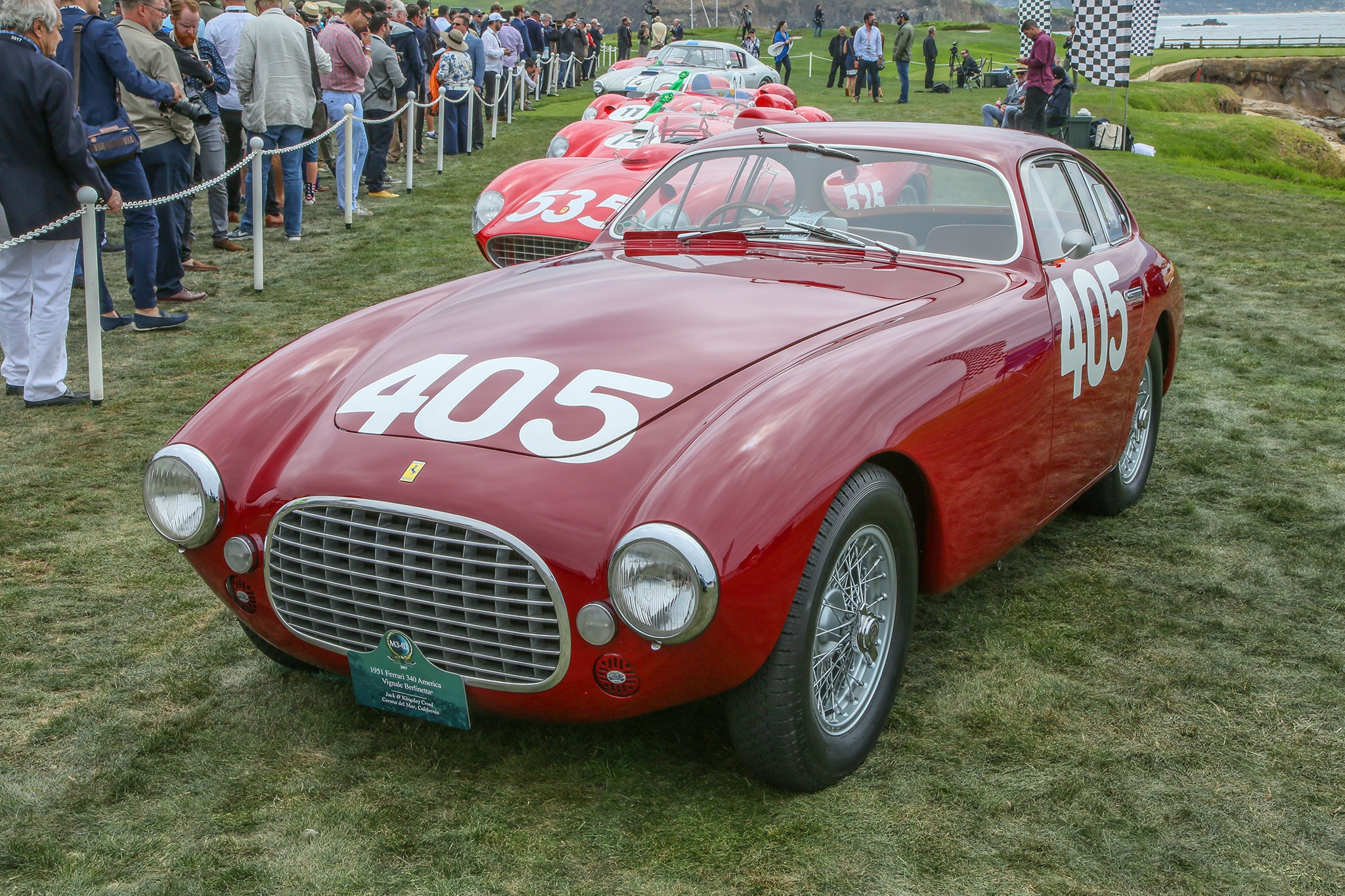 18 Favorite Ferraris From The 2017 Pebble Beach Concours D
