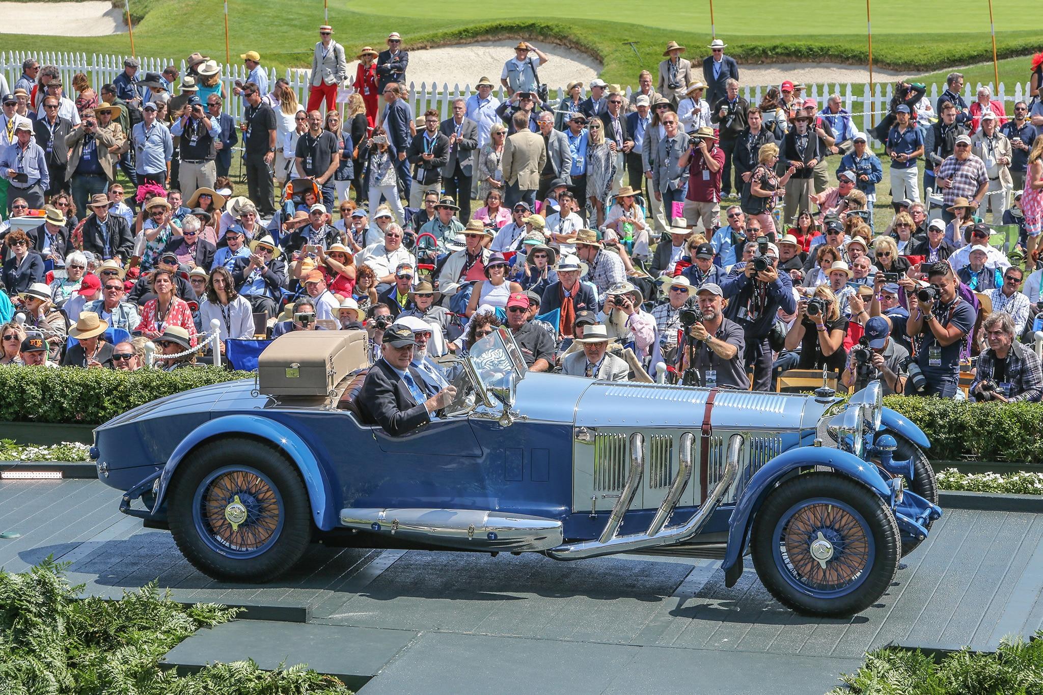 2017 Pebble Beach Concours Ramp Cars 01 1929 Mercedes Benz S Barker Tourer