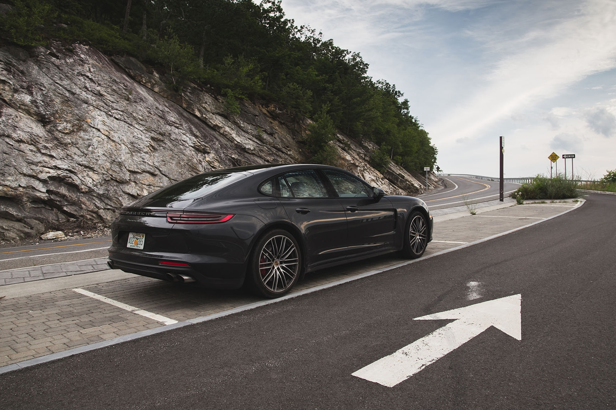 2017 porsche panamera turbo one week review automobile magazine. Black Bedroom Furniture Sets. Home Design Ideas