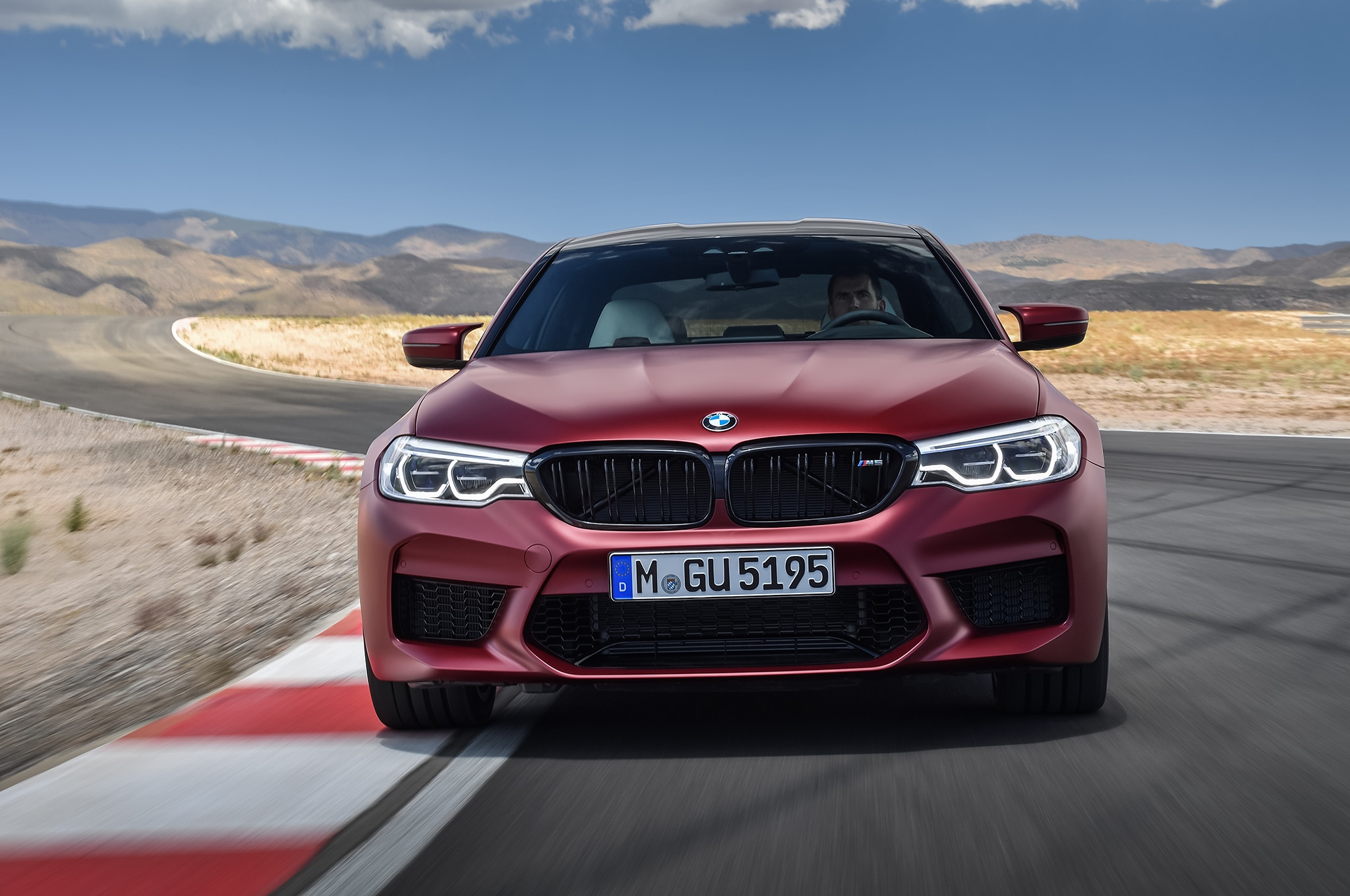 2018 BMW M5 Front In Motion