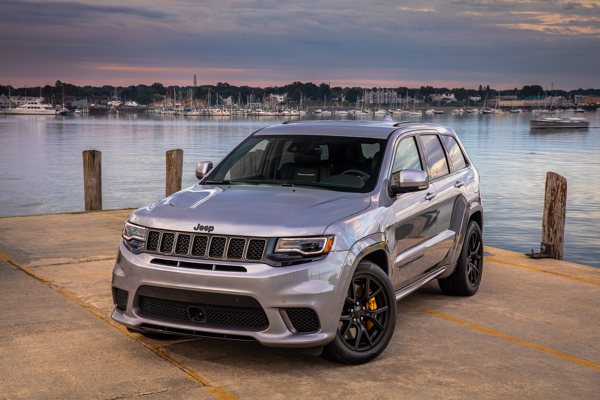 2018 Trackhawk Jeep >> 2018 Jeep Grand Cherokee Trackhawk First Drive Review Automobile