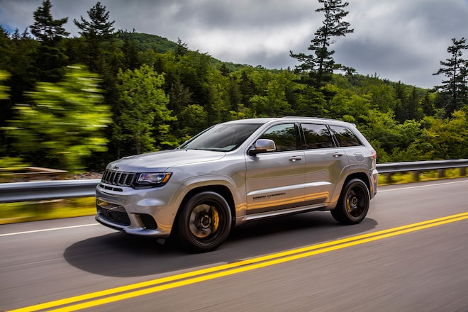 2018 Jeep Grand Cherokee: New Trackhawk Version, Specs, Price >> 2018 Jeep Grand Cherokee Trackhawk First Drive Review Automobile