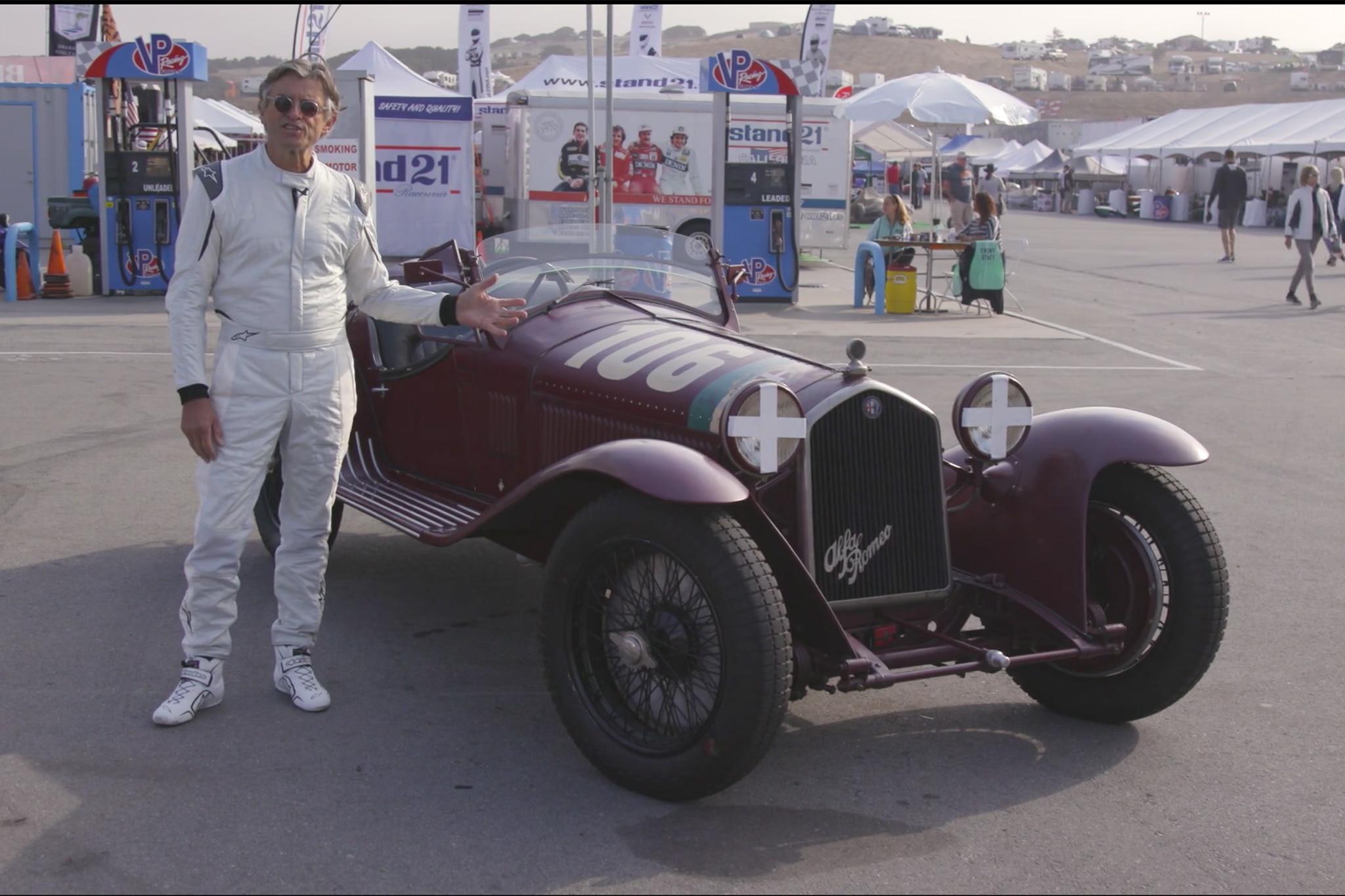 Alain De Cadenet 1932 Alfa Romeo 8C 02