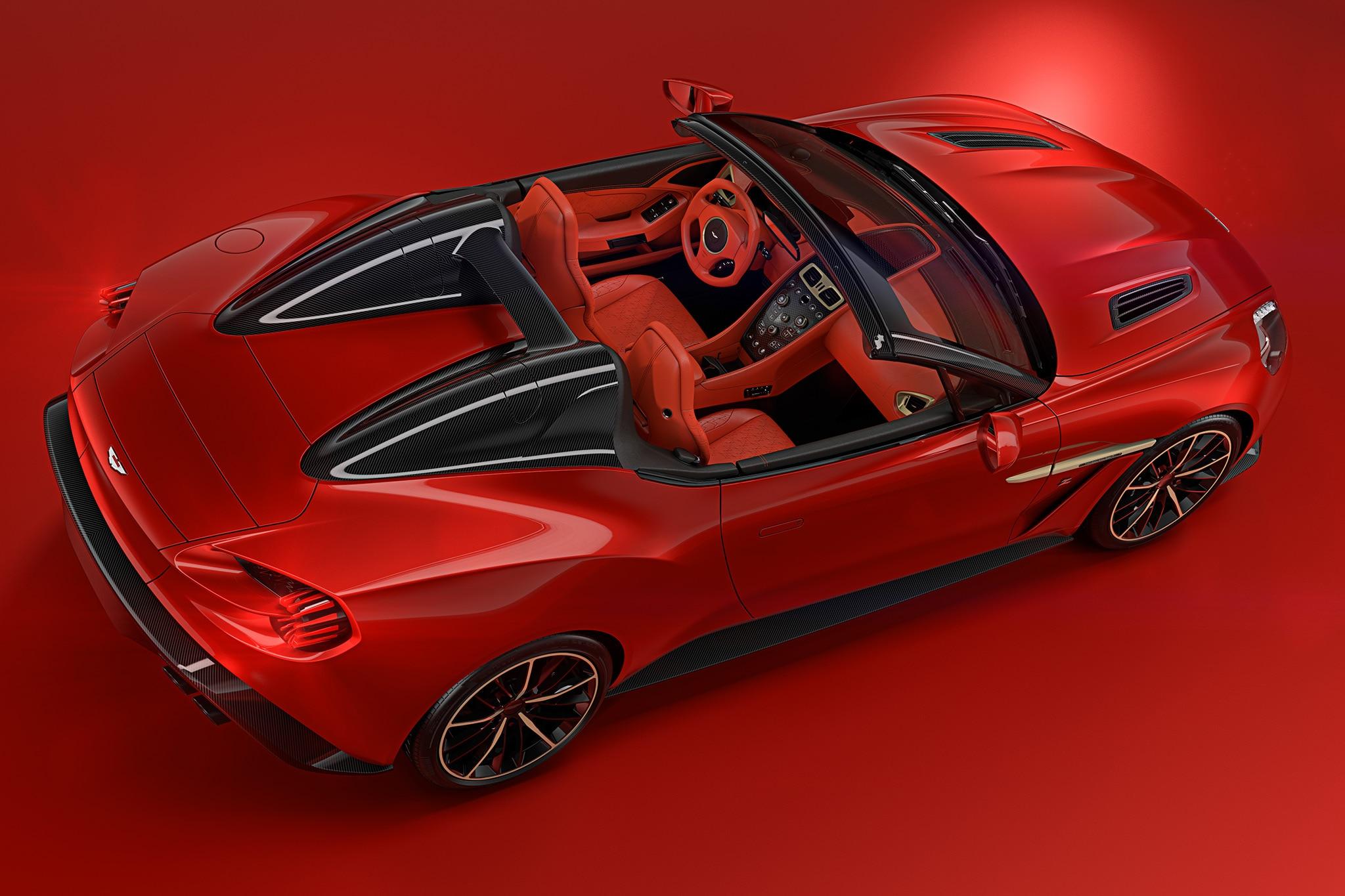 Aston Martin Debuts Vanquish Zagato Speedster Teases Vanquish