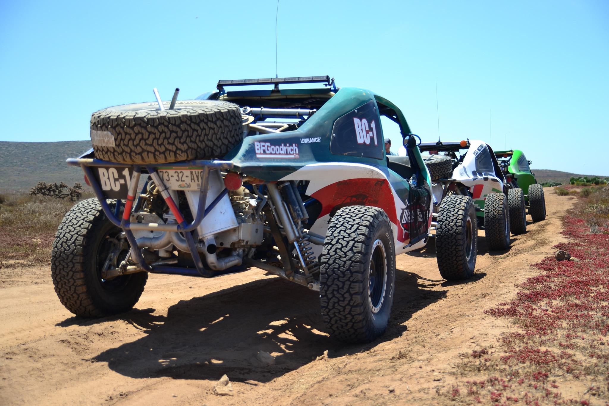 Baja Challenge Car Coast Rear Three Quarters Group