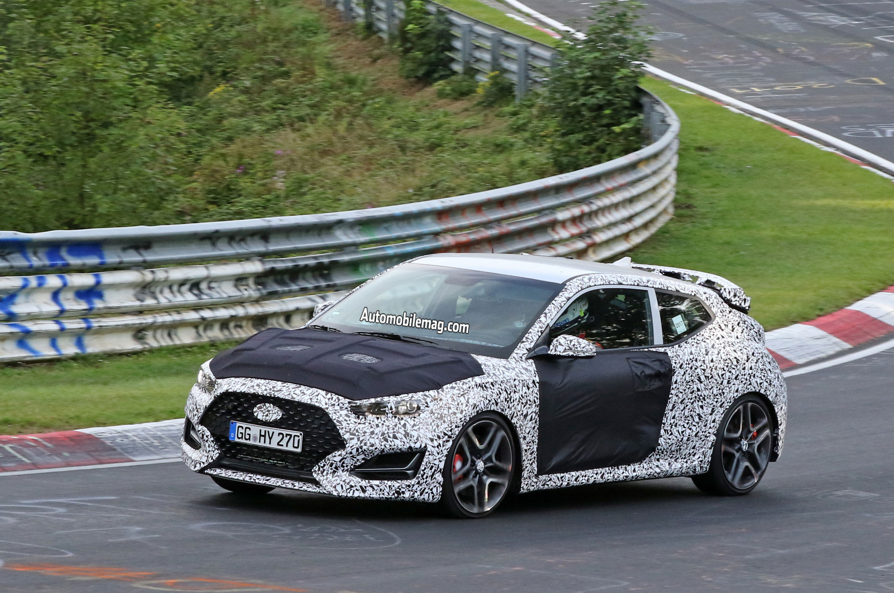 Hyundai Veloster N Sheds Camo At The Ring Auto Breaking News Turbo Intercooler