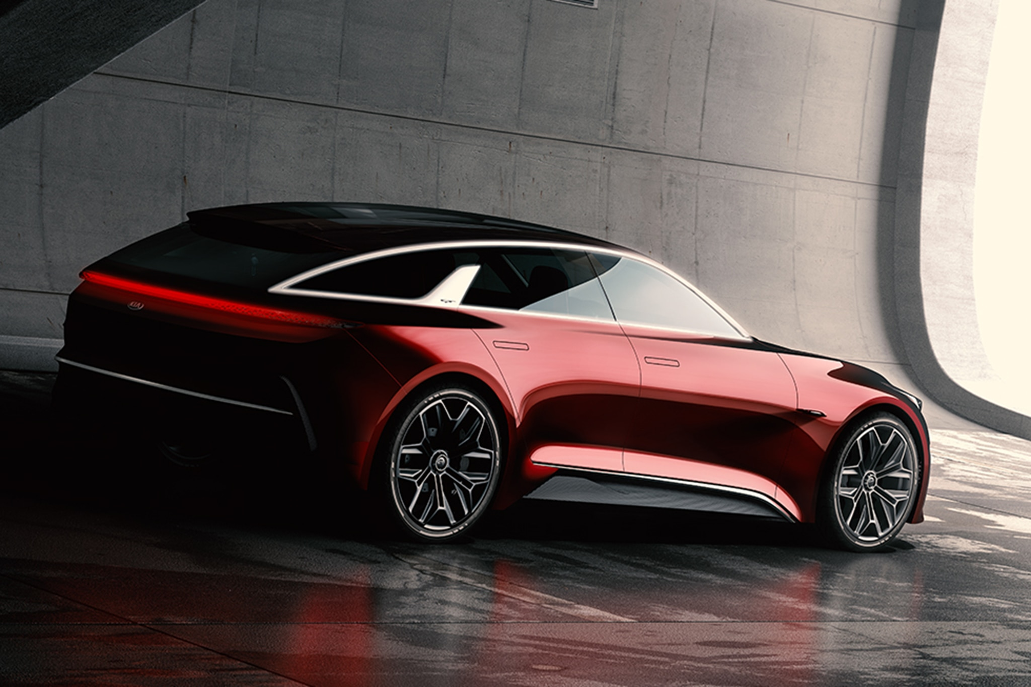 Kia Concept At The 2017 Frankfurt Motor Show