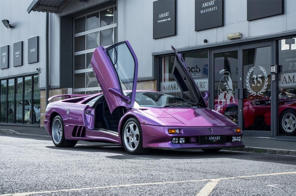 Just Listed Jamiroquai Front Man S Cosmic Lamborghini Diablo Se30