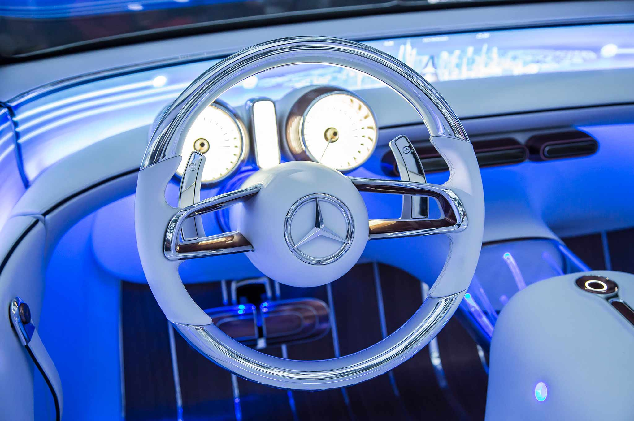 Vision Mercedes-Maybach 6 Cabriolet Wows Pebble Beach ...