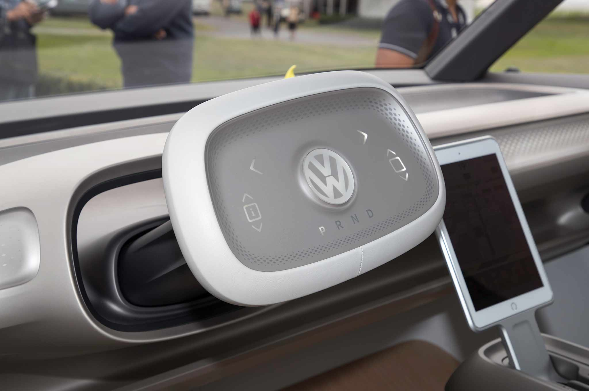 Volkswagen I D Buzz Concept First Drive Review Automobile Magazine