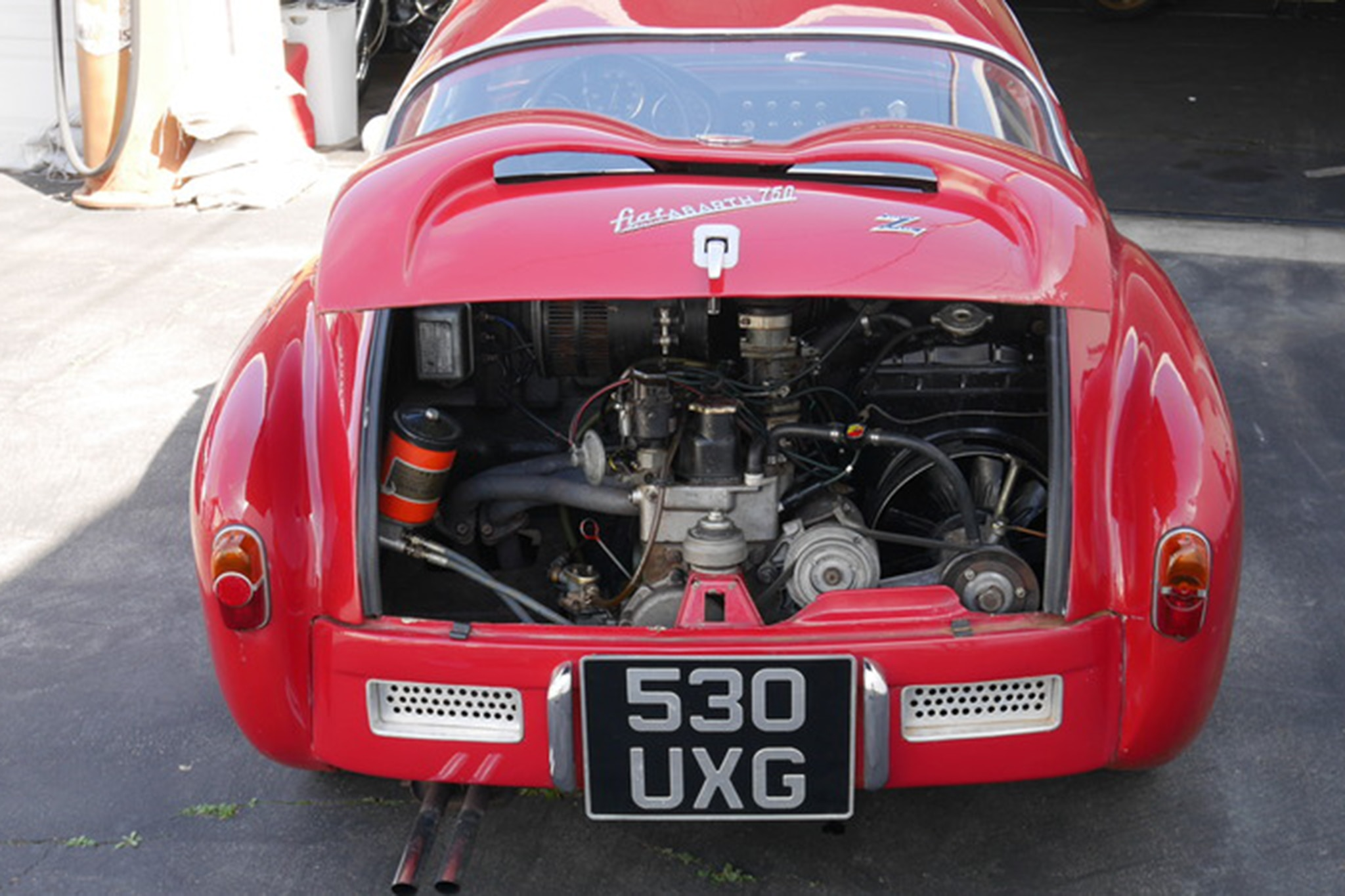 Just Listed: 1957 Fiat Abarth 750 Zagato | Automobile Magazine