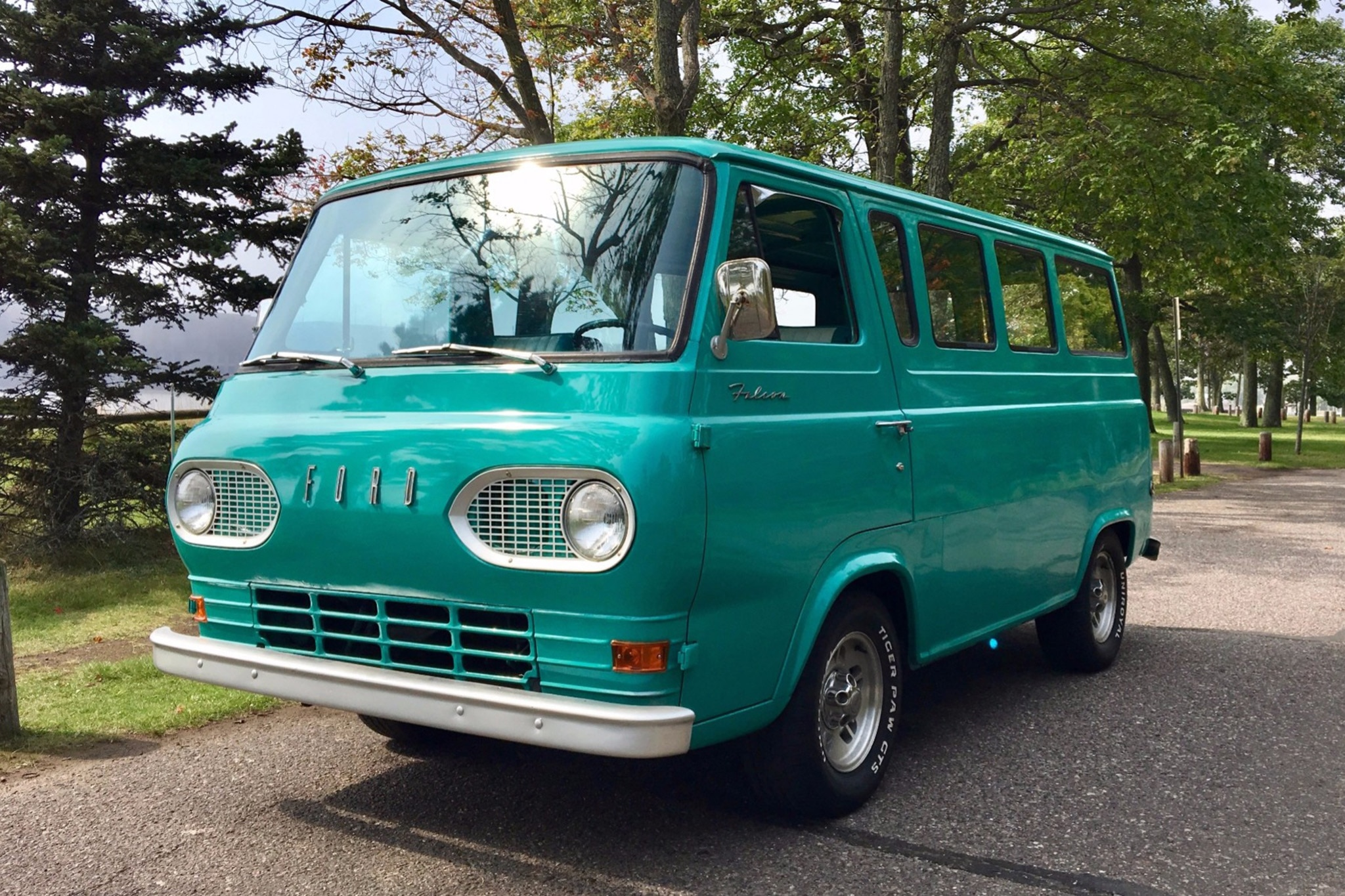 1964 Ford Econoline Just Listed Front Three Quarters