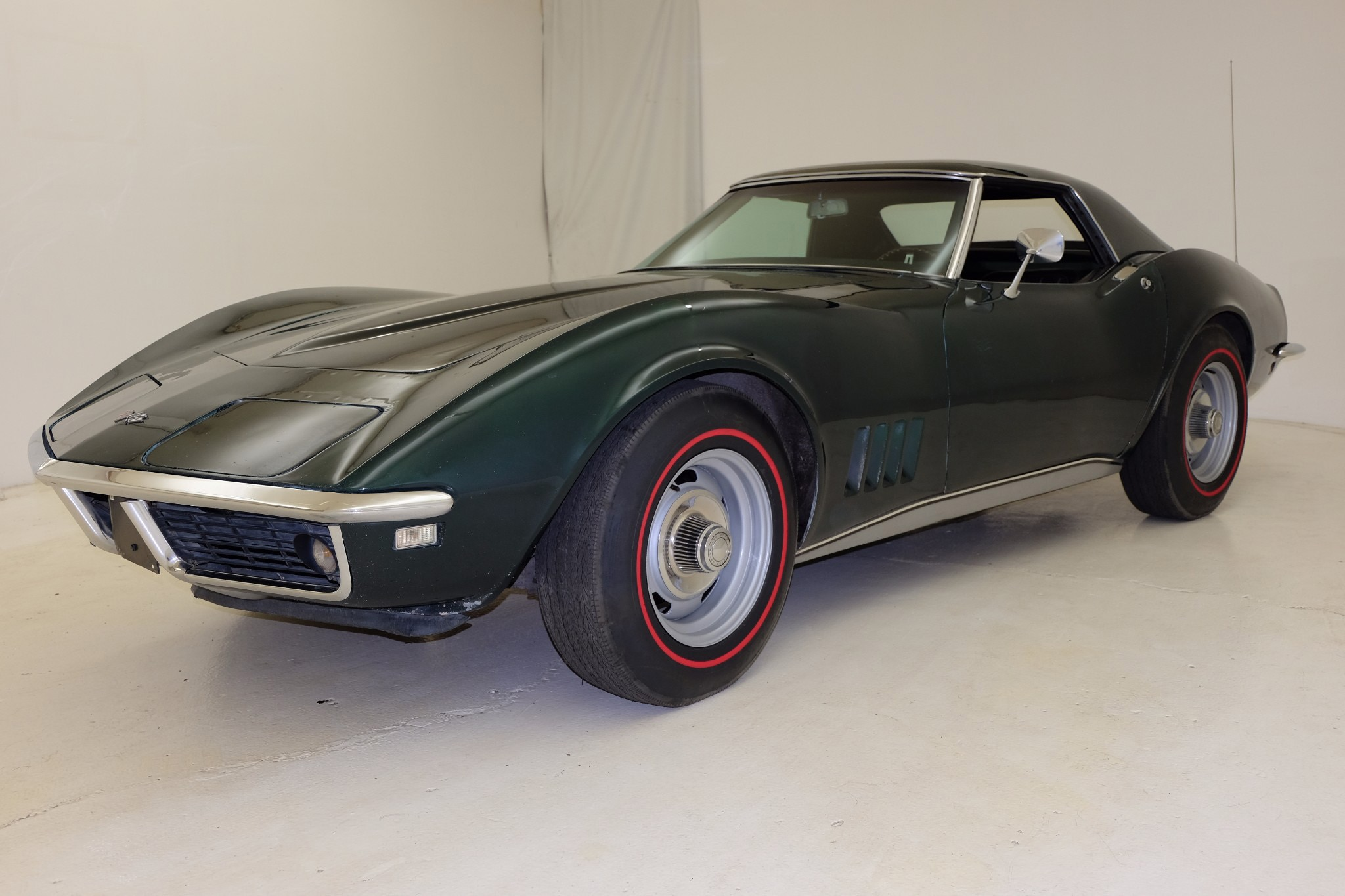1968 Chevrolet Corvette Convertible Just Listed Front Three Quarters