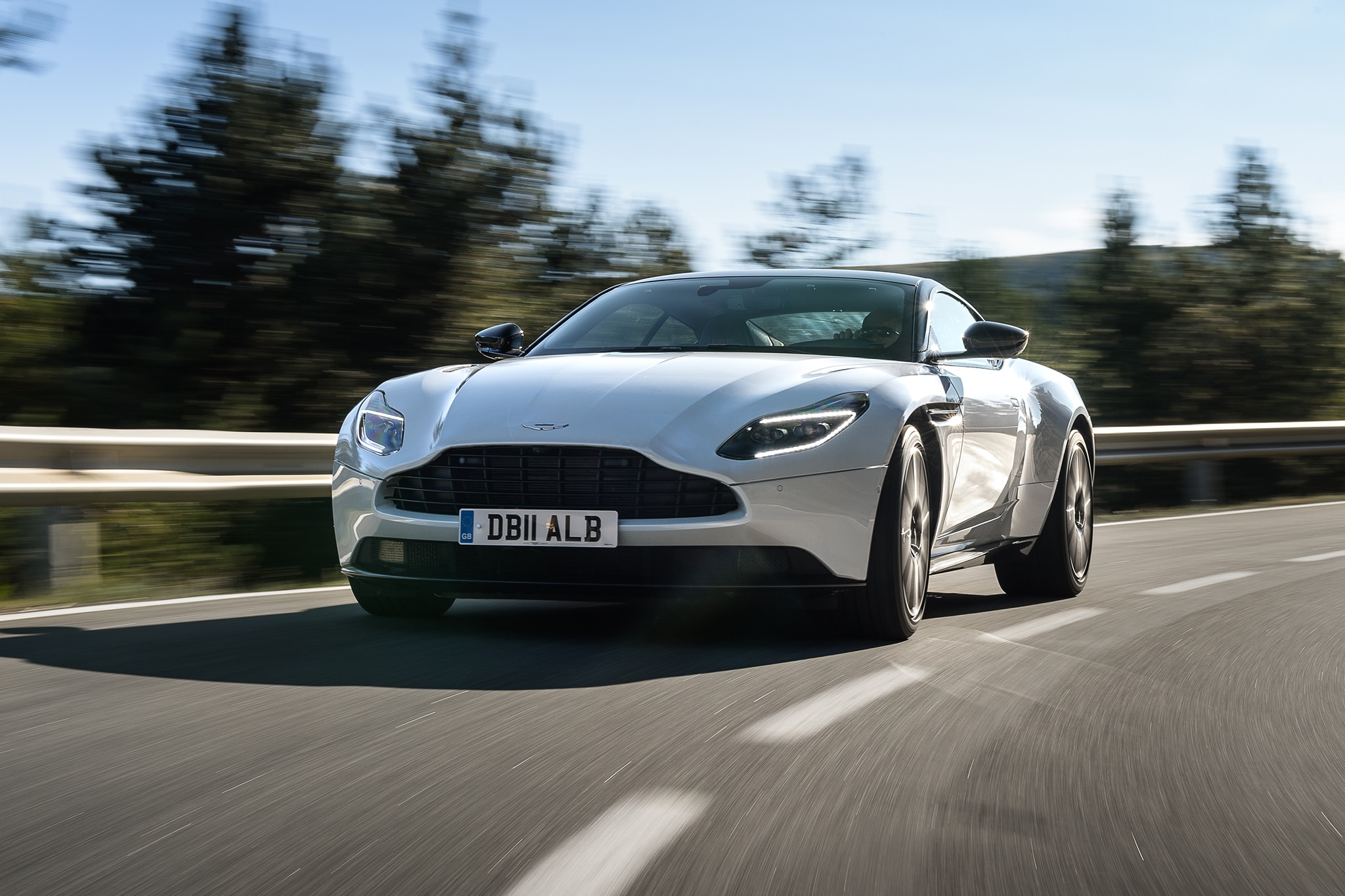 2018 Aston Martin DB11 Front View In Motion 04