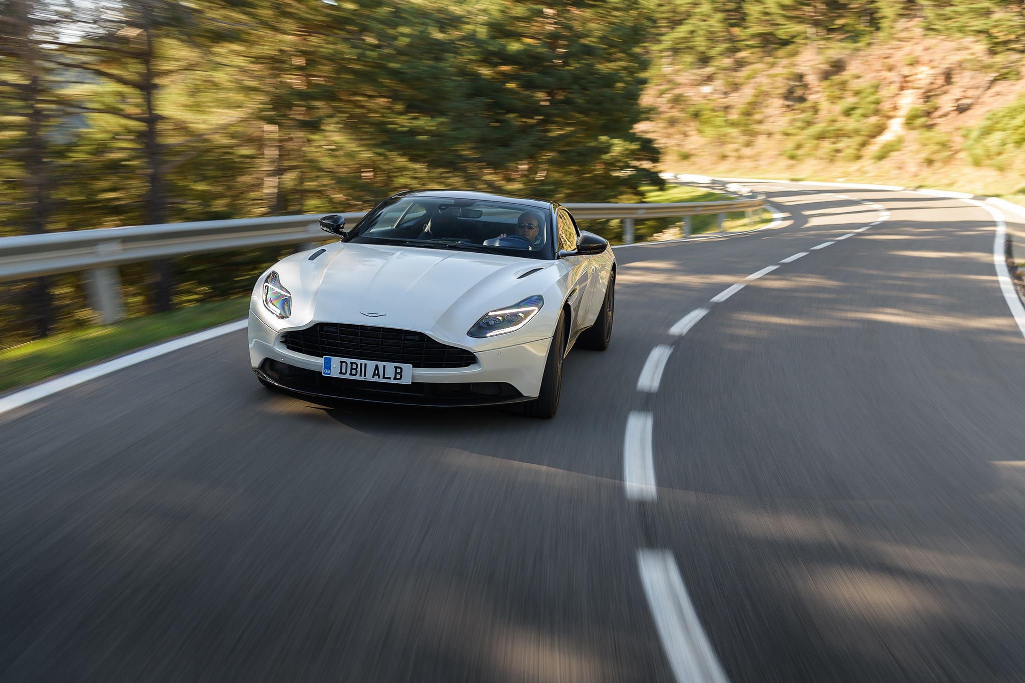 Aston Martin DB V First Drive Review Automobile Magazine - Aston martin 2018