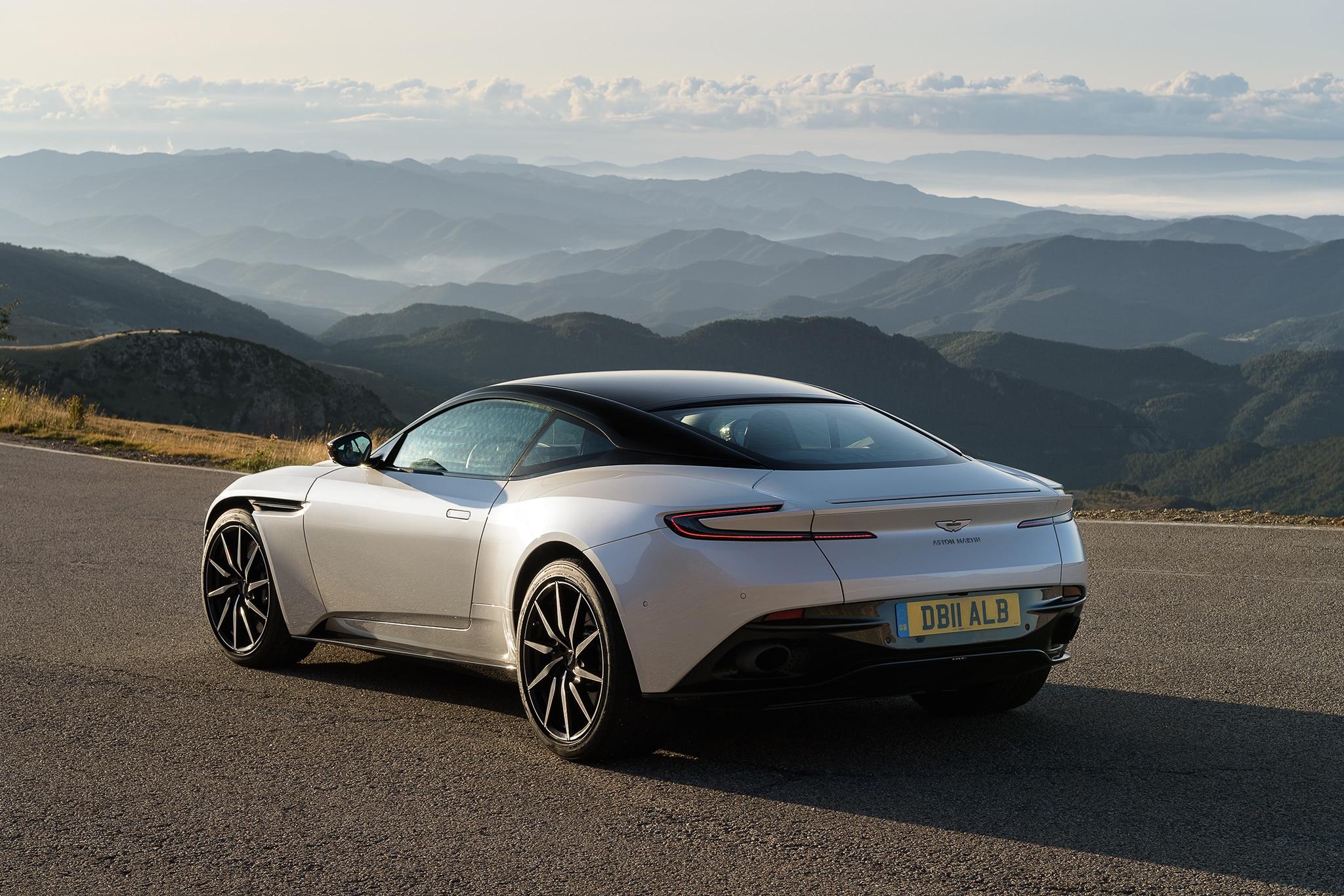 Aston Martin DB V First Drive Review Automobile Magazine - 2018 aston martin