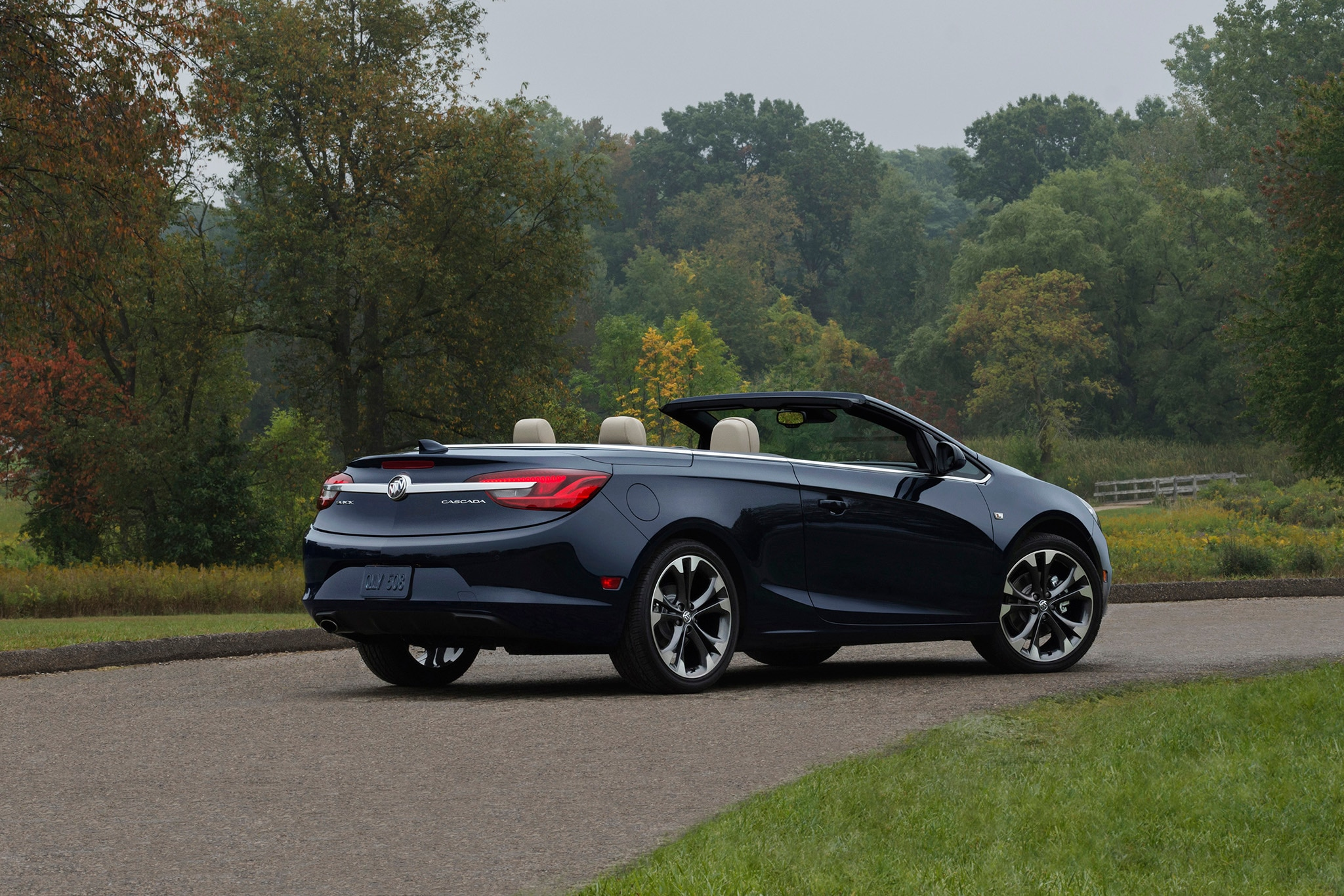 2018 Buick Cascada Rear Three Quarters Top Down