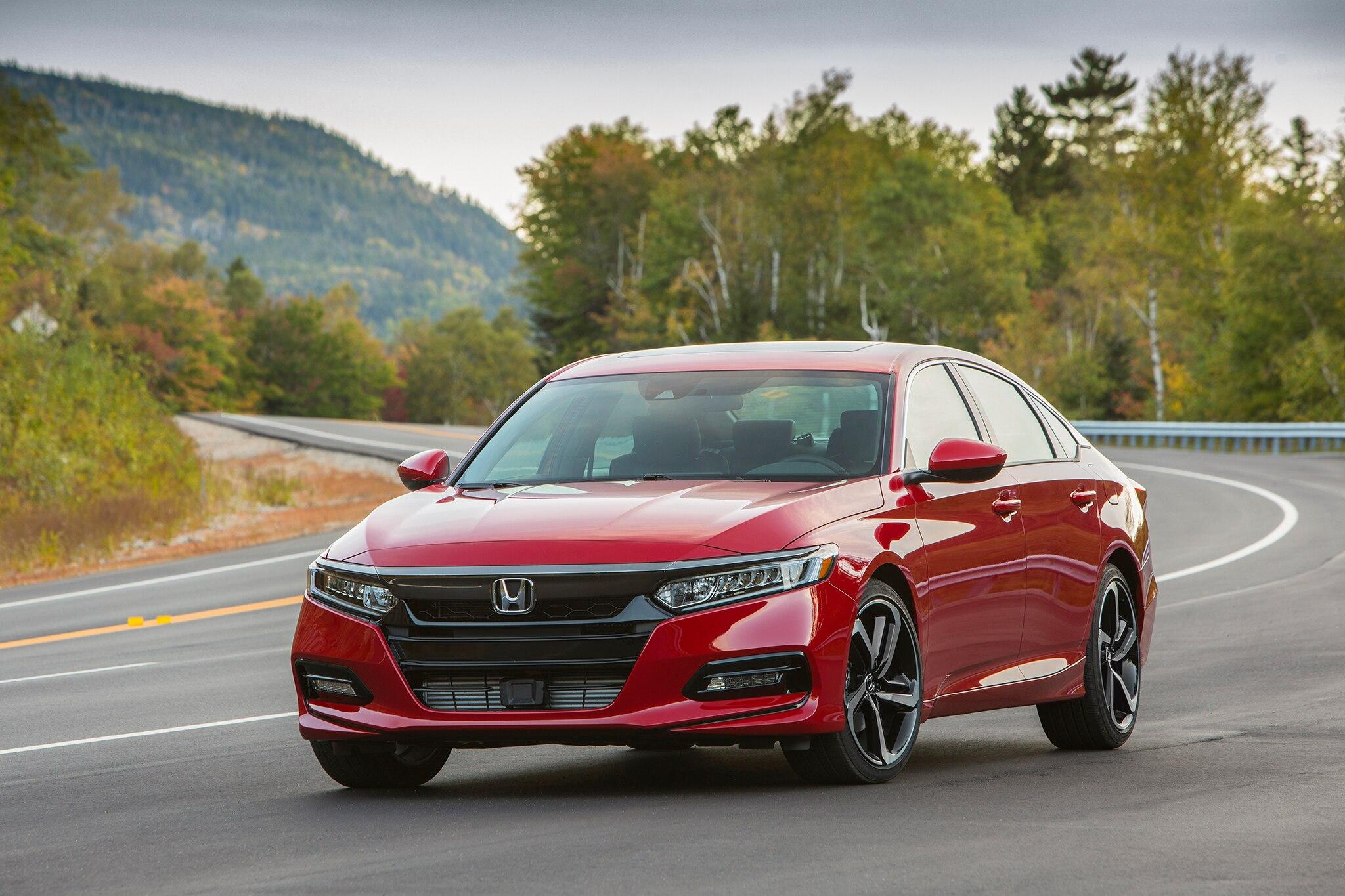 First Drive: 2018 Honda Accord   Automobile Magazine
