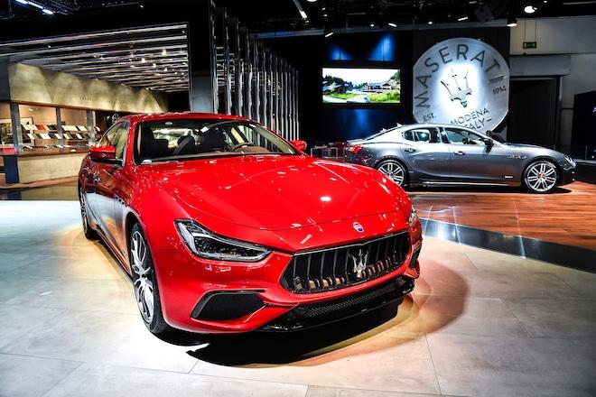 2018 Maserati Ghibli GranSport Front Detail