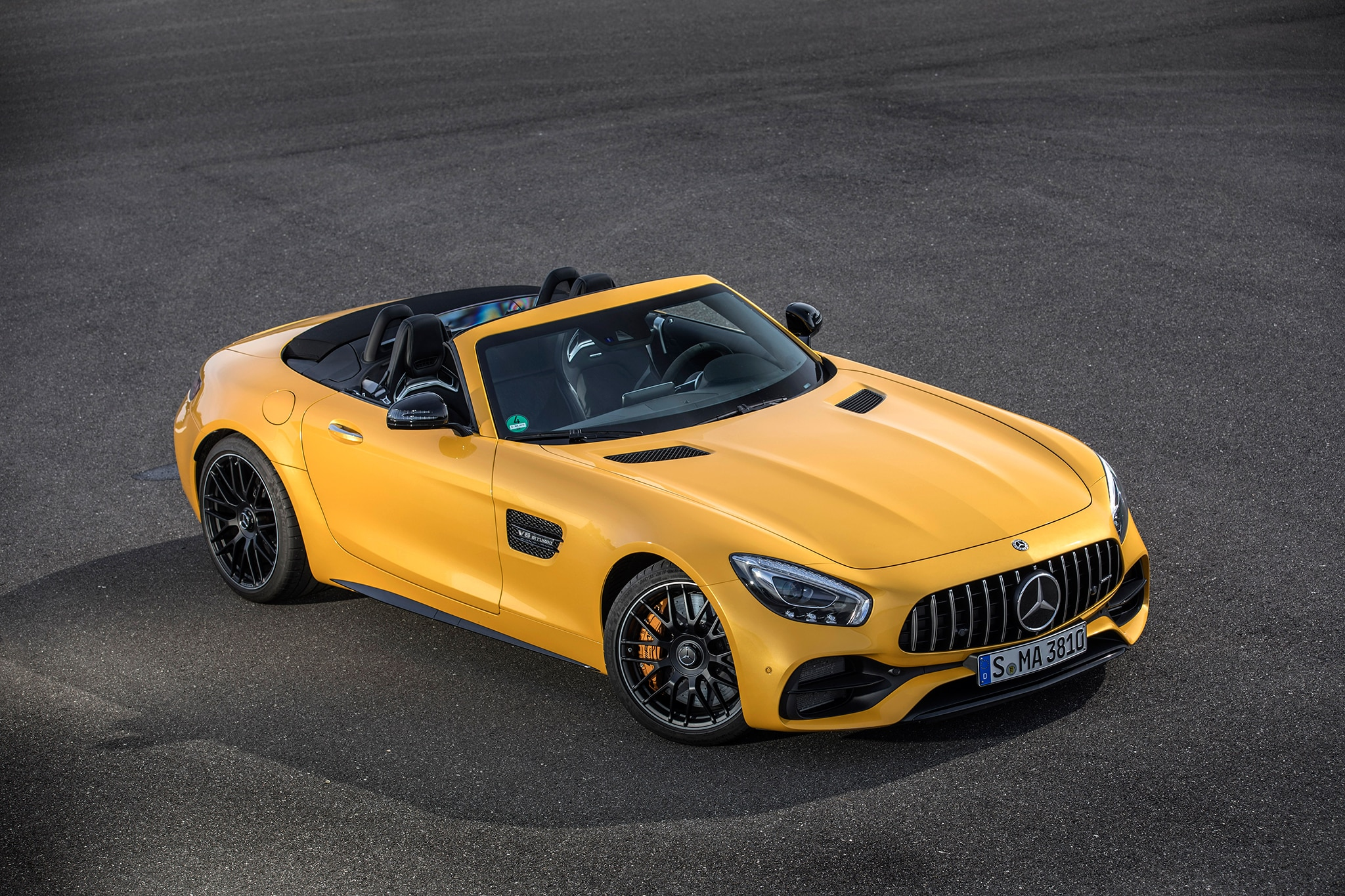 All in the 2018 Mercedes AMG GT Family