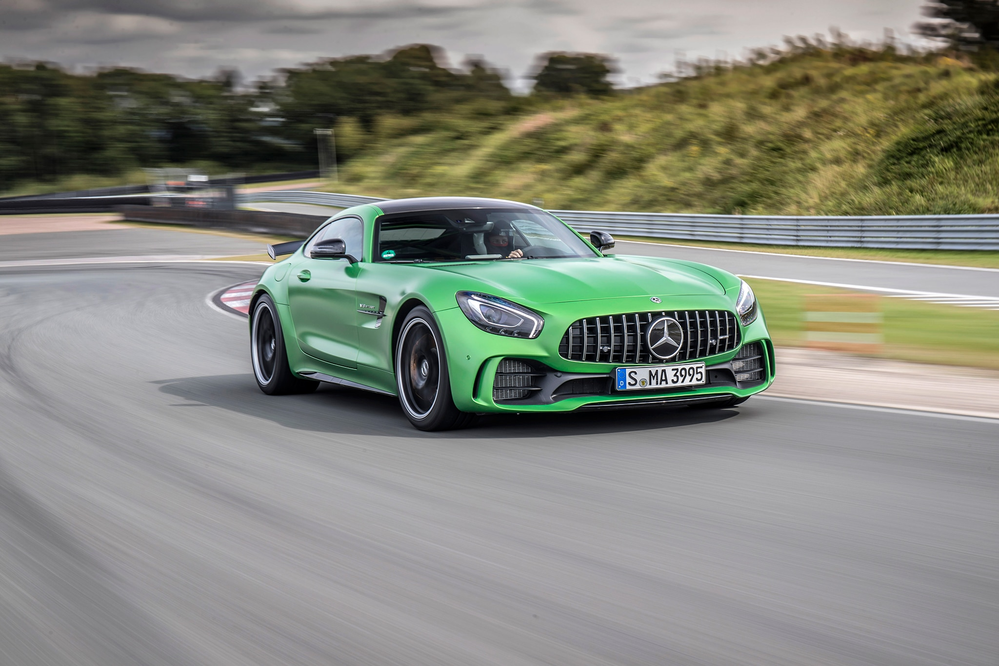 All in the 2018 Mercedes-AMG GT Family | Automobile Magazine