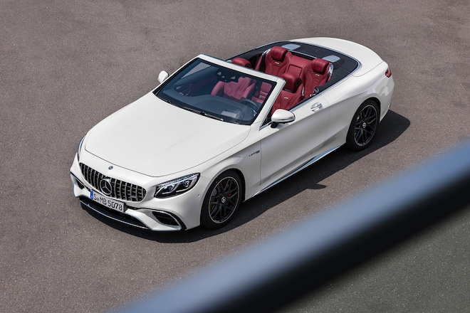 2018 Mercedes Benz S Cl Coupe And Convertible Roll Out With Upgraded Trains
