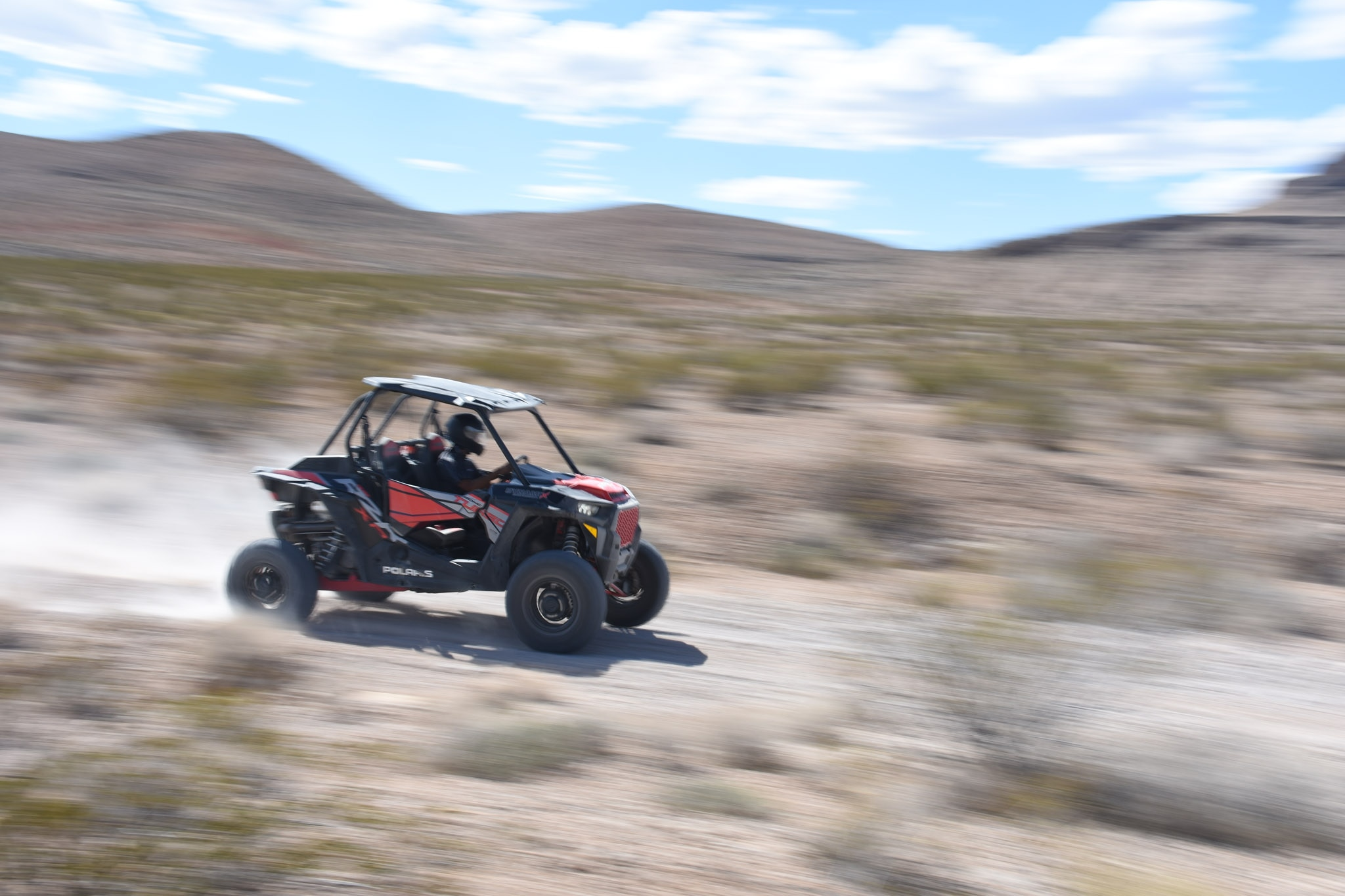 Crossing (Part of) the Mojave Desert at 76 MPH in the Polaris RZR